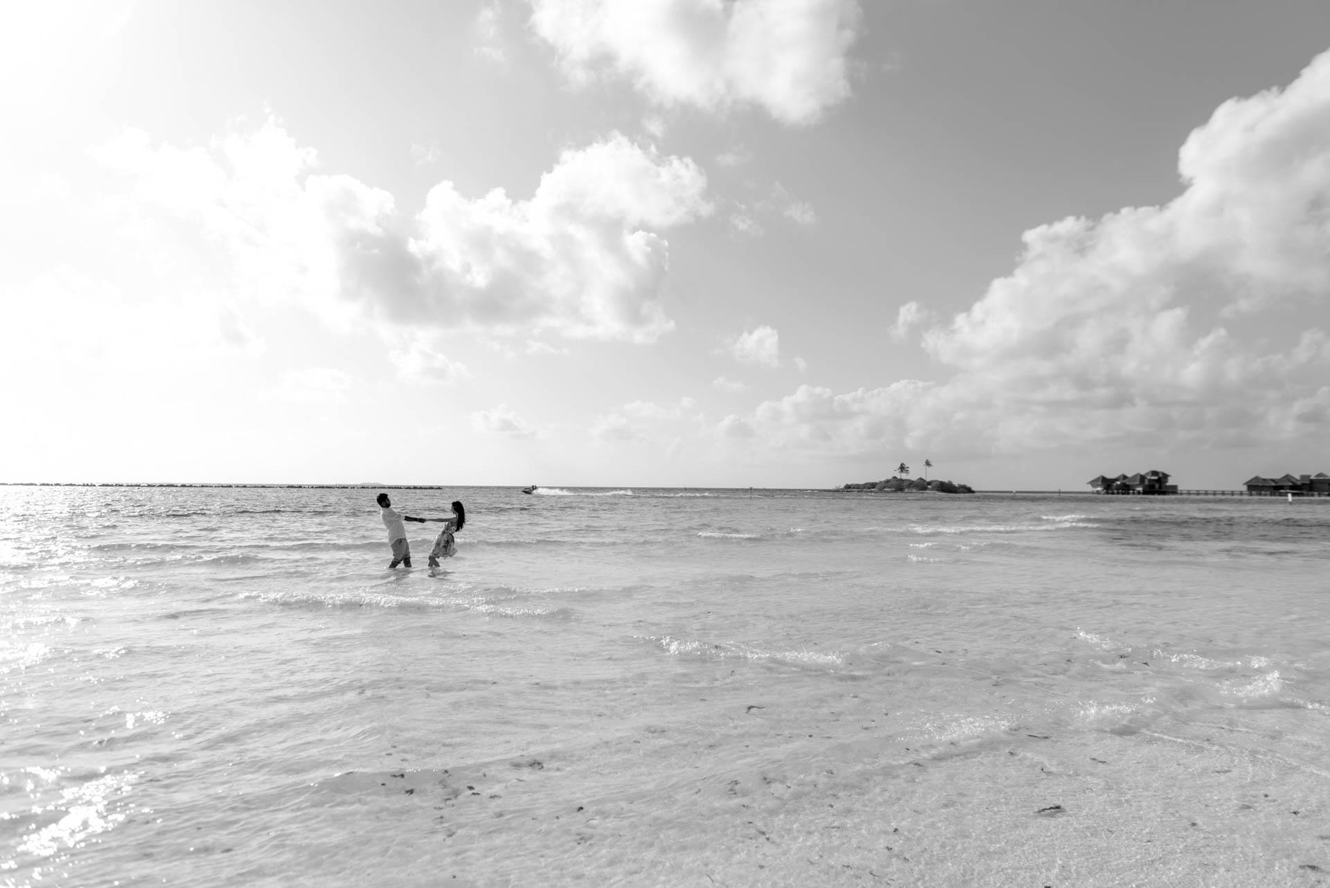 Abhijit Meghna Romantic Vacation in Maldives 14