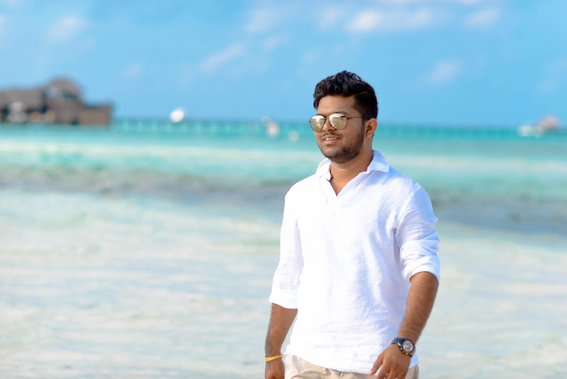 Abhijit Meghna Romantic Vacation in Maldives 16