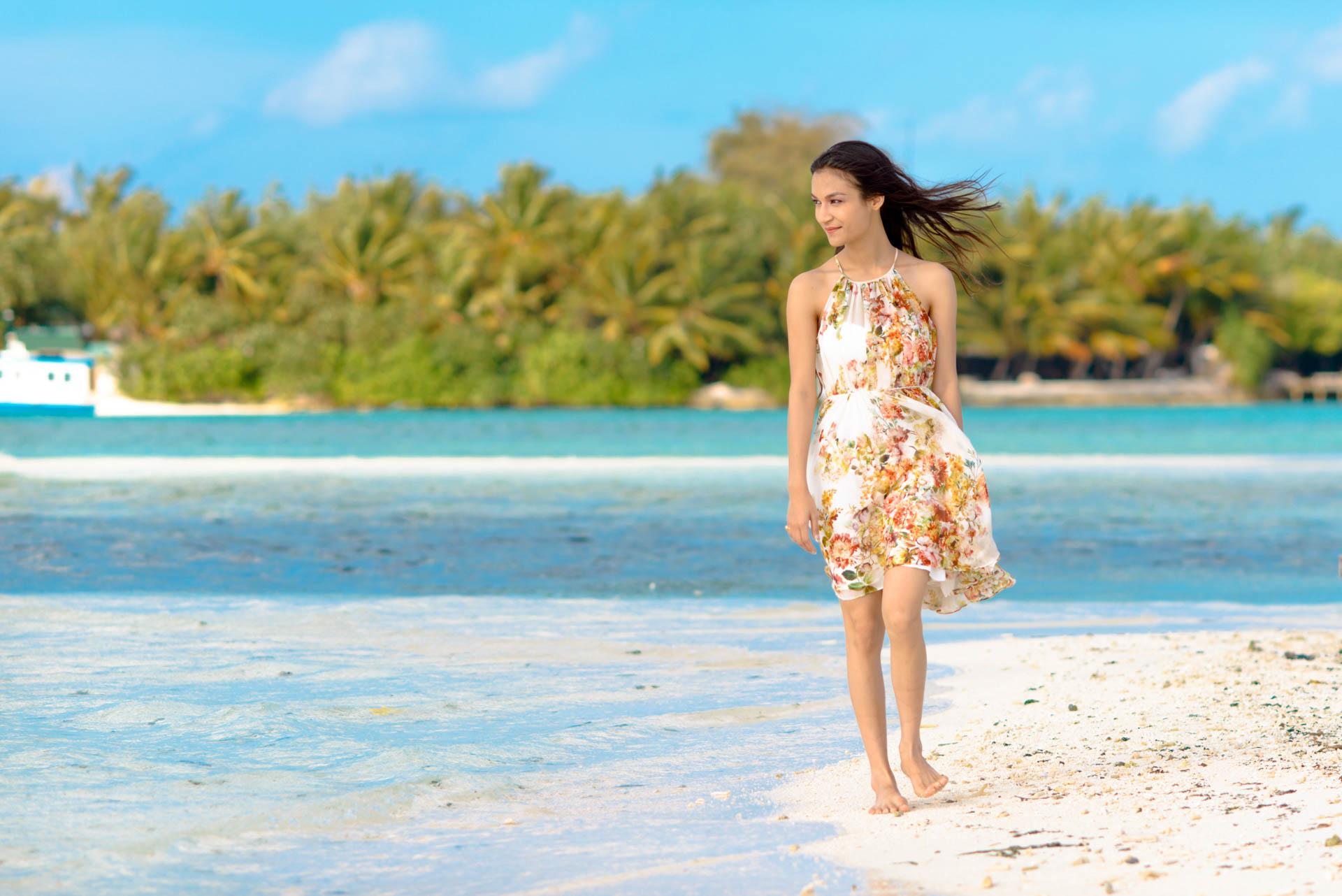 Abhijit Meghna Romantic Vacation in Maldives 18