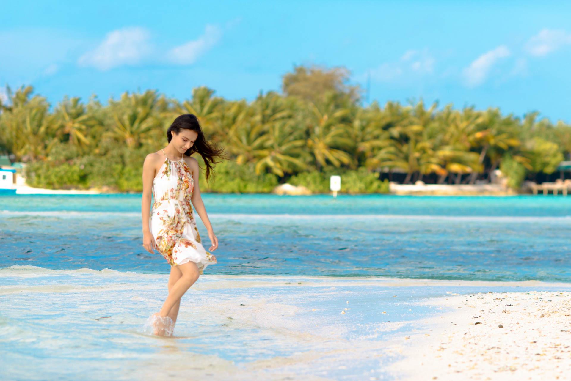 Abhijit Meghna Romantic Vacation in Maldives 19