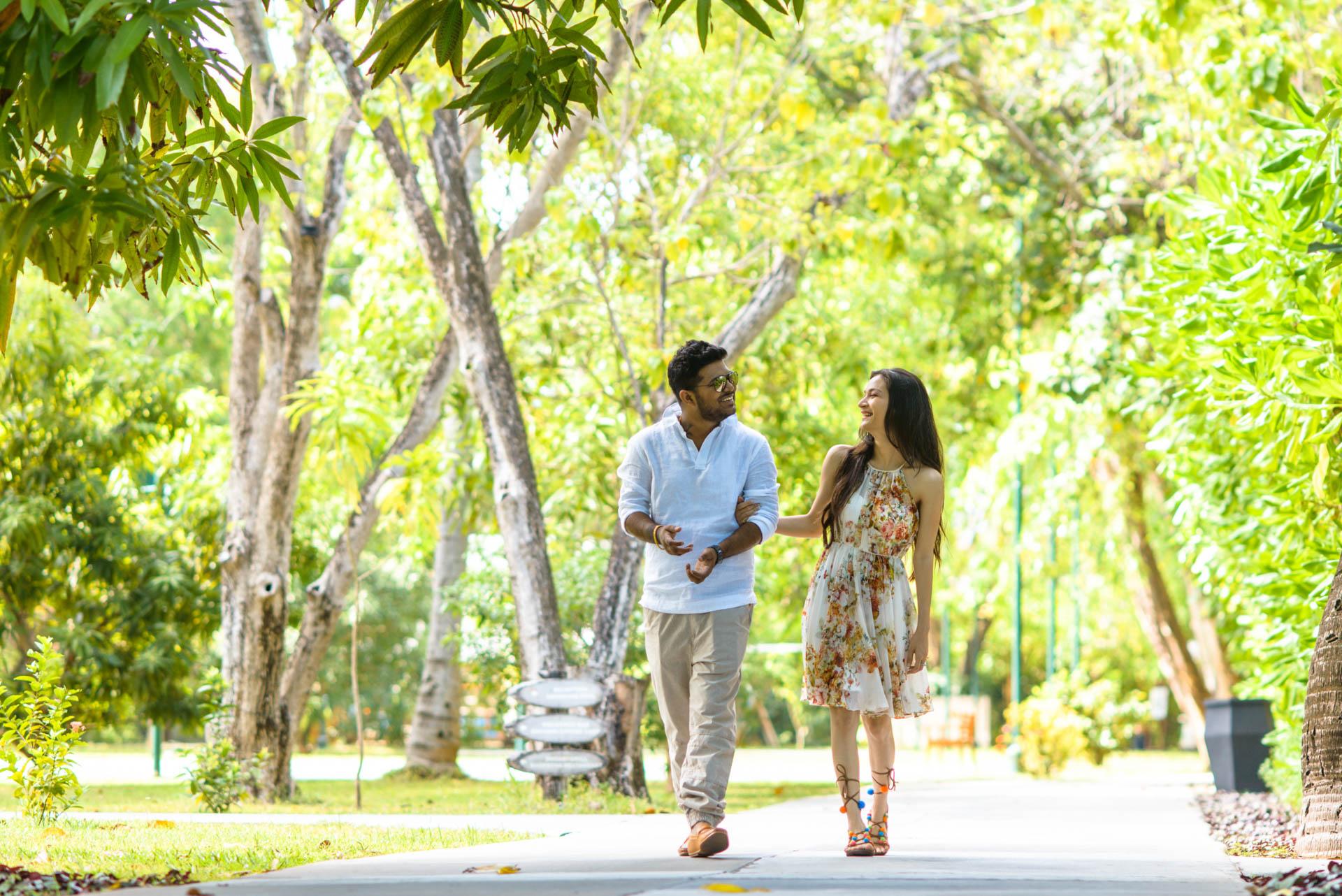 Abhijit Meghna Romantic Vacation in Maldives 24