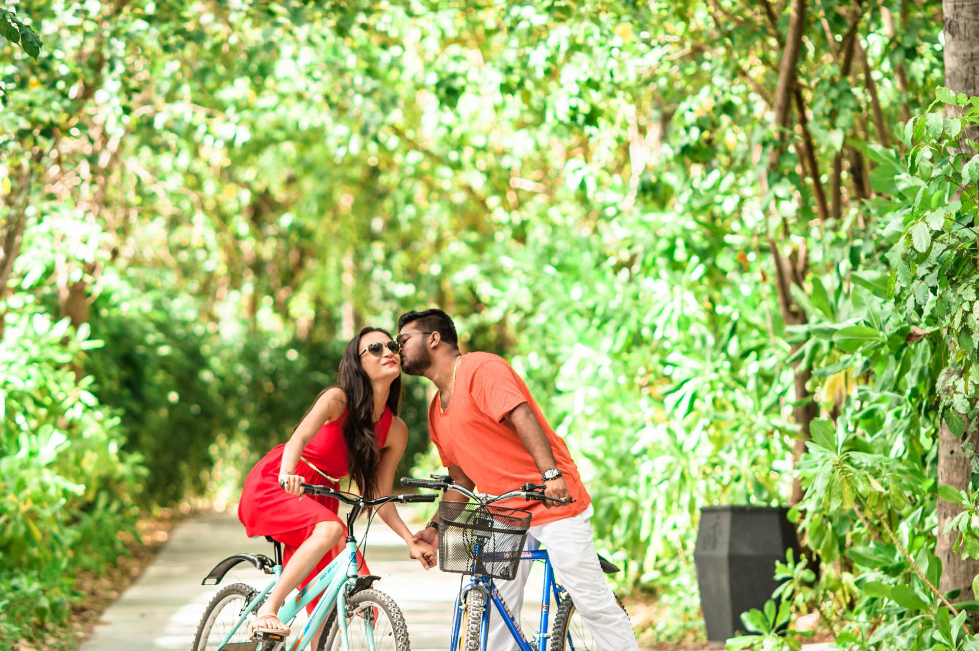 Abhijit Meghna Romantic Vacation in Maldives 25