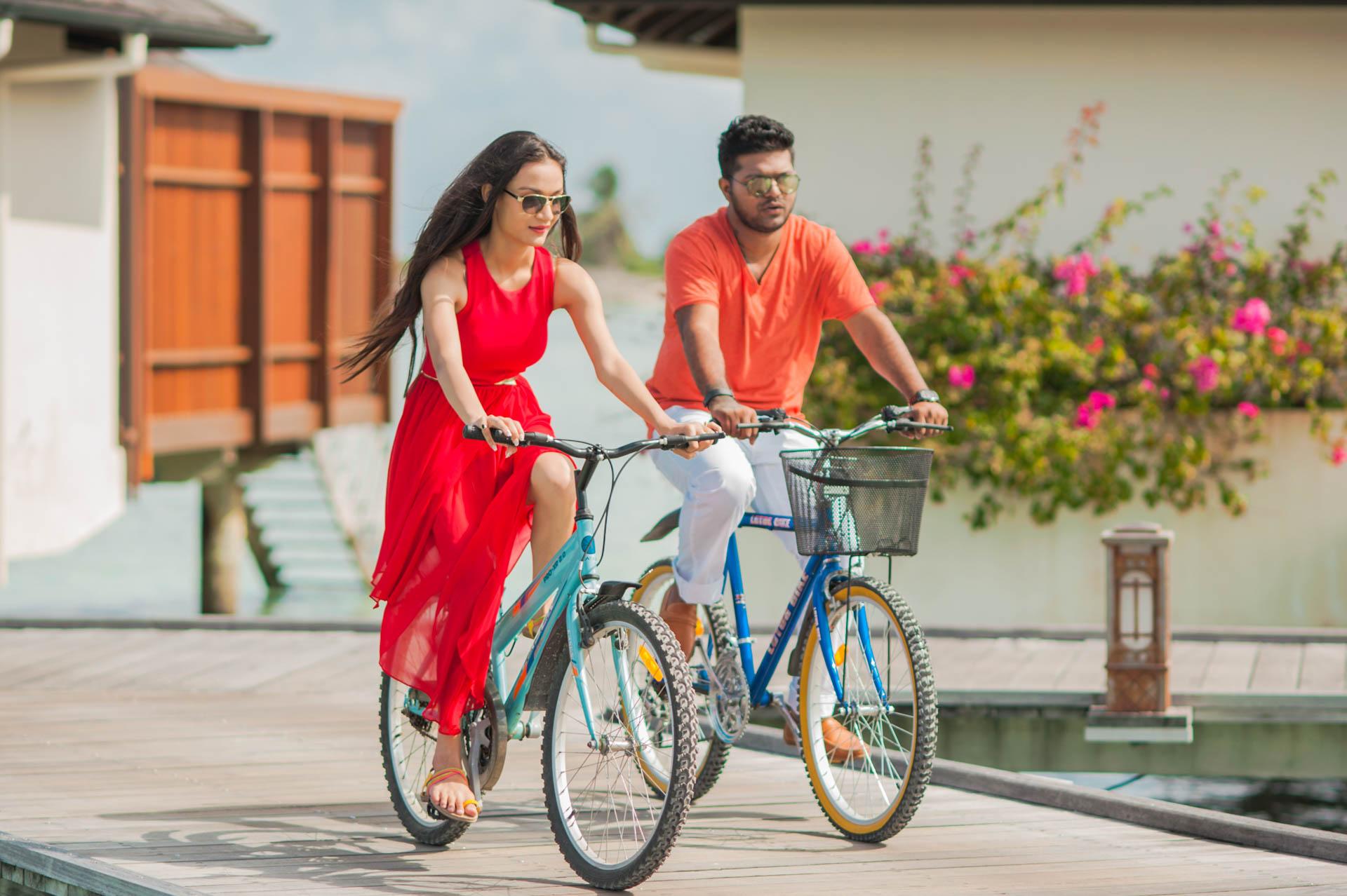 Abhijit Meghna Romantic Vacation in Maldives 27