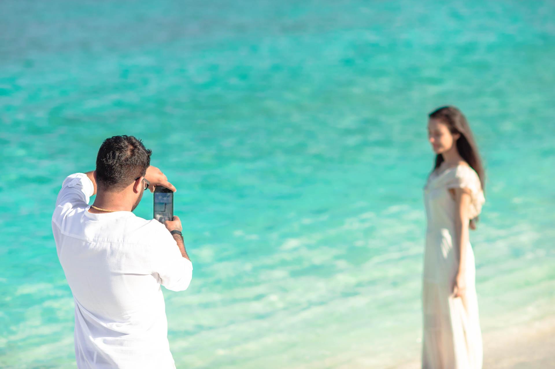 Abhijit Meghna Romantic Vacation in Maldives 28