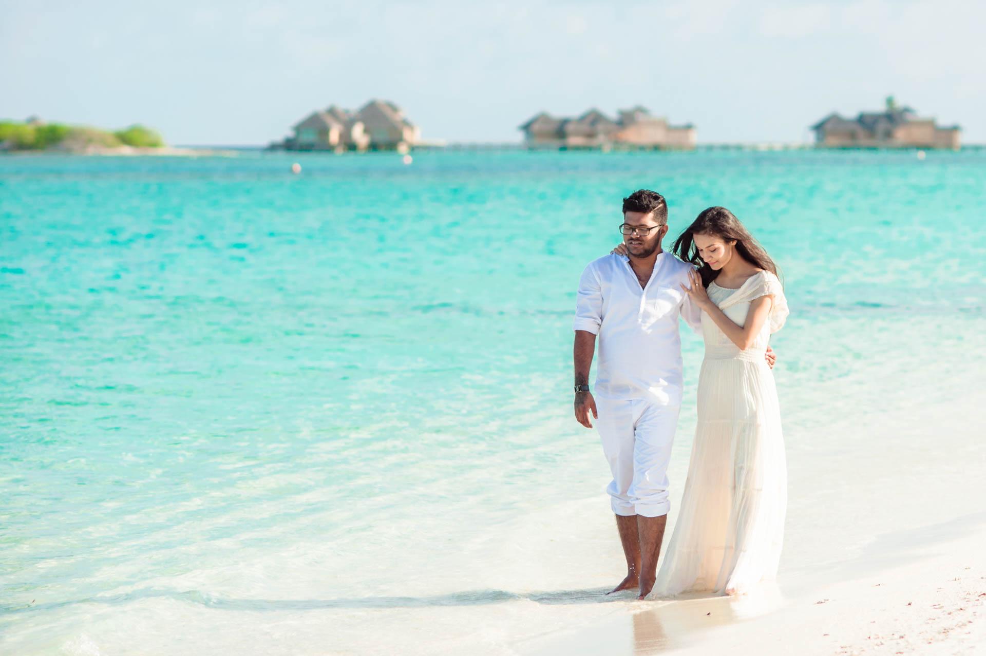 Abhijit Meghna Romantic Vacation in Maldives 4