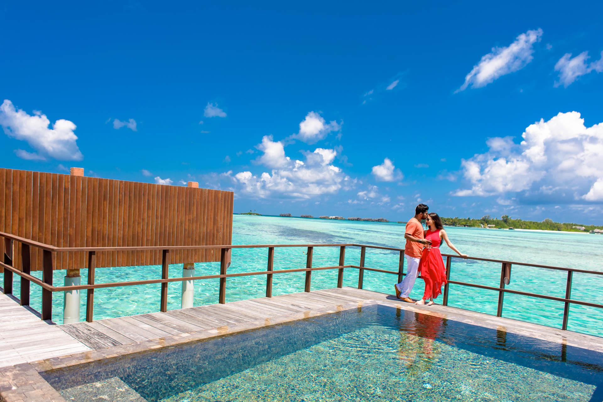 Abhijit Meghna Romantic Vacation in Maldives 9