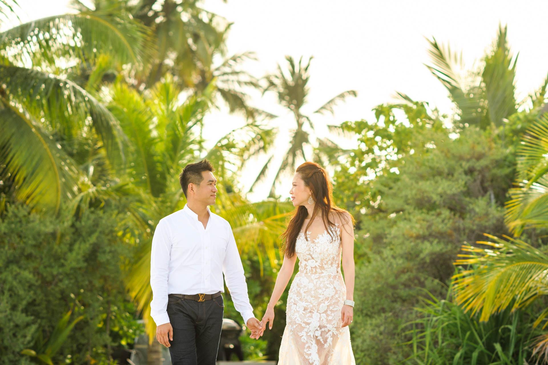 Andy Binbin Honeymoon at Anantara Kihavah 11