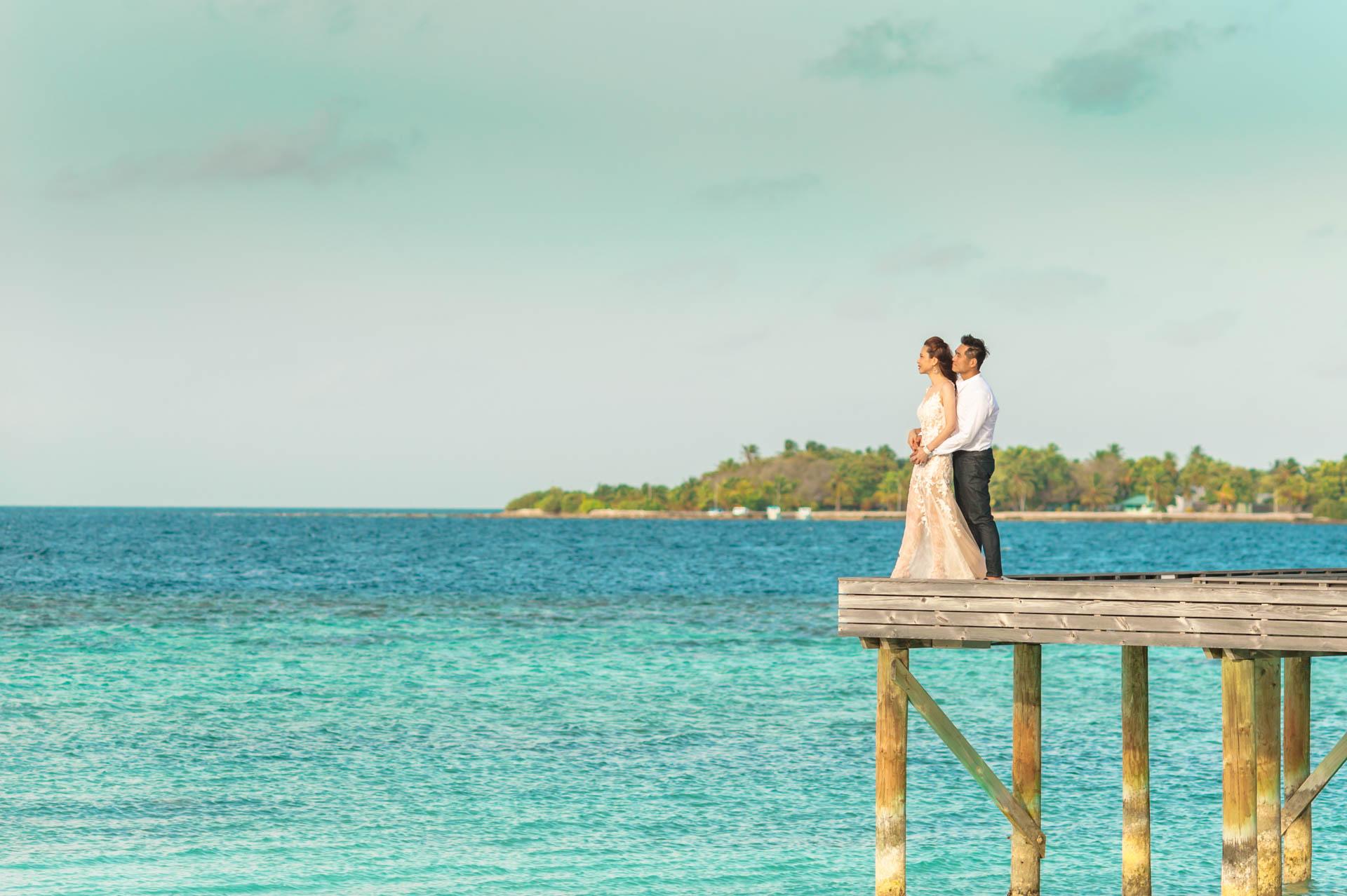 Andy Binbin Honeymoon at Anantara Kihavah 12