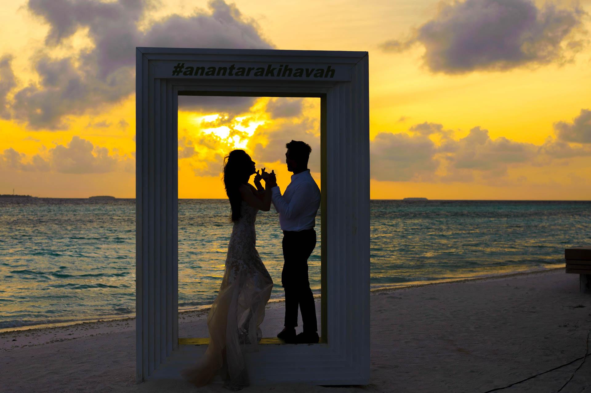 Andy Binbin Honeymoon at Anantara Kihavah 13