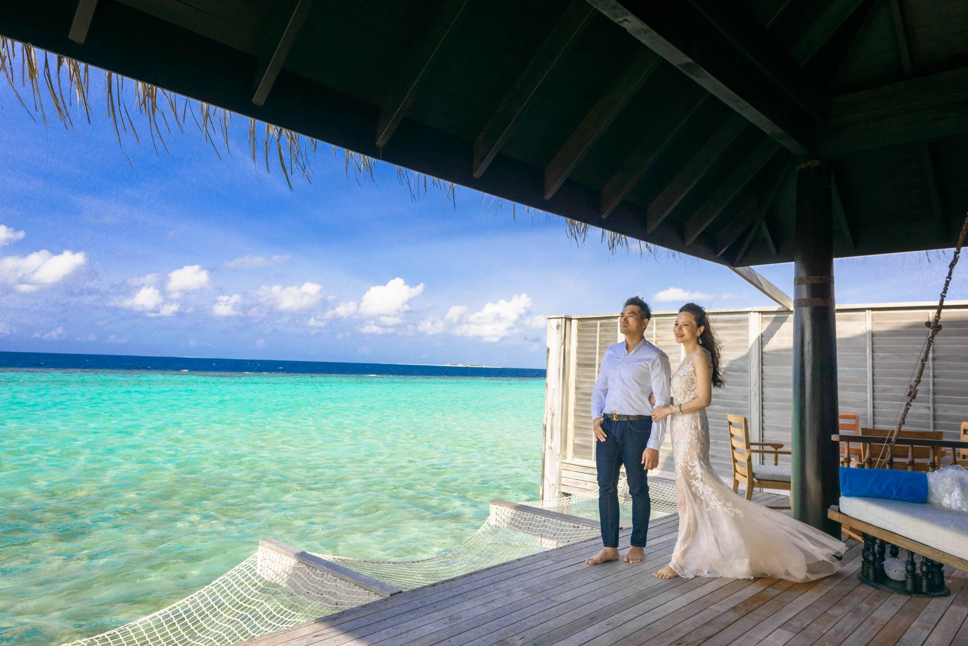 Andy Binbin Honeymoon at Anantara Kihavah 18