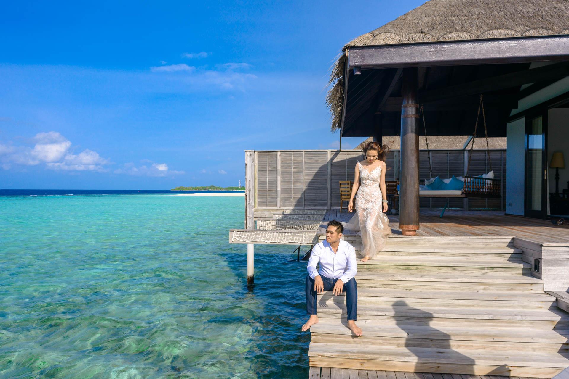 Andy Binbin Honeymoon at Anantara Kihavah 19