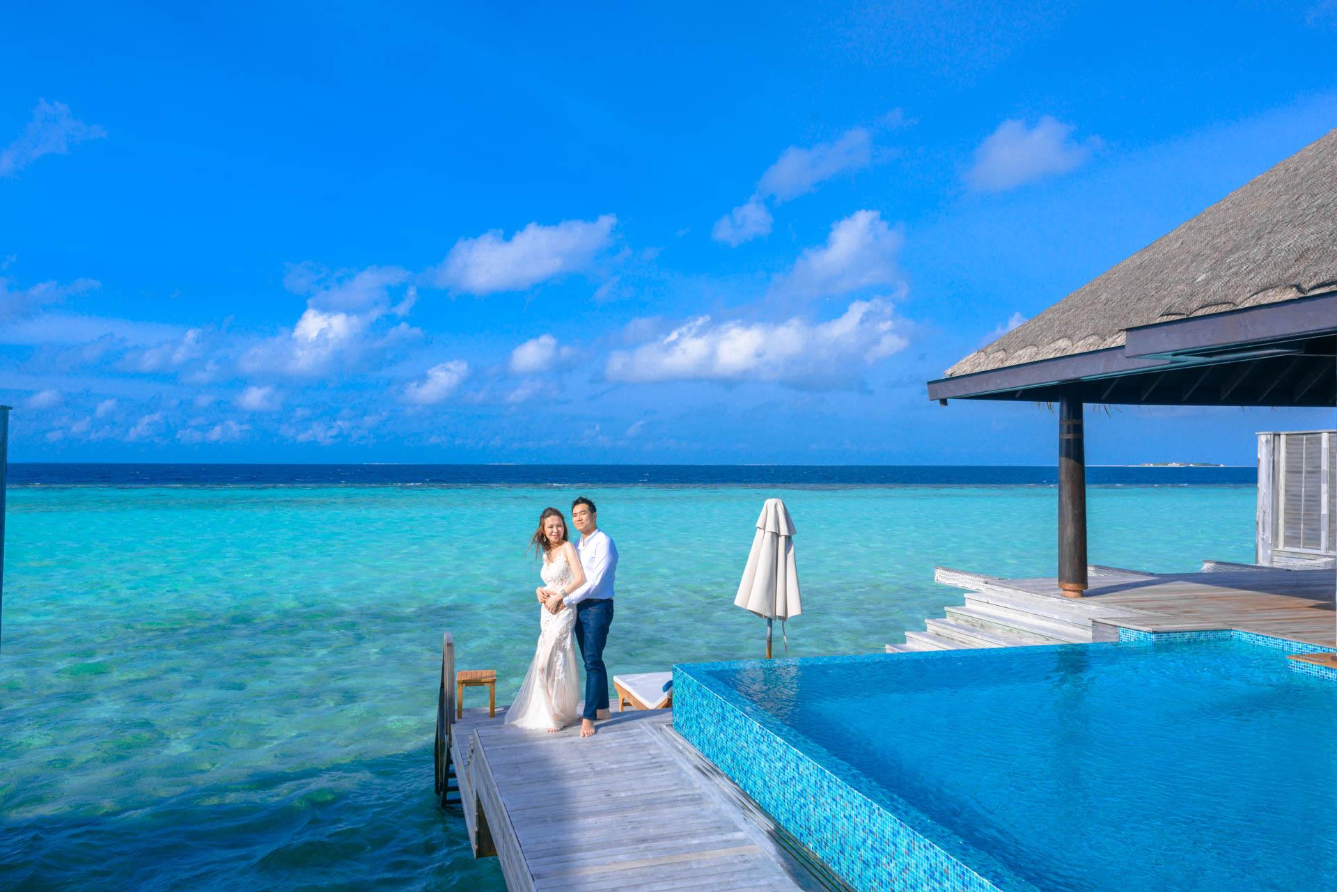 Andy Binbin Honeymoon at Anantara Kihavah 20