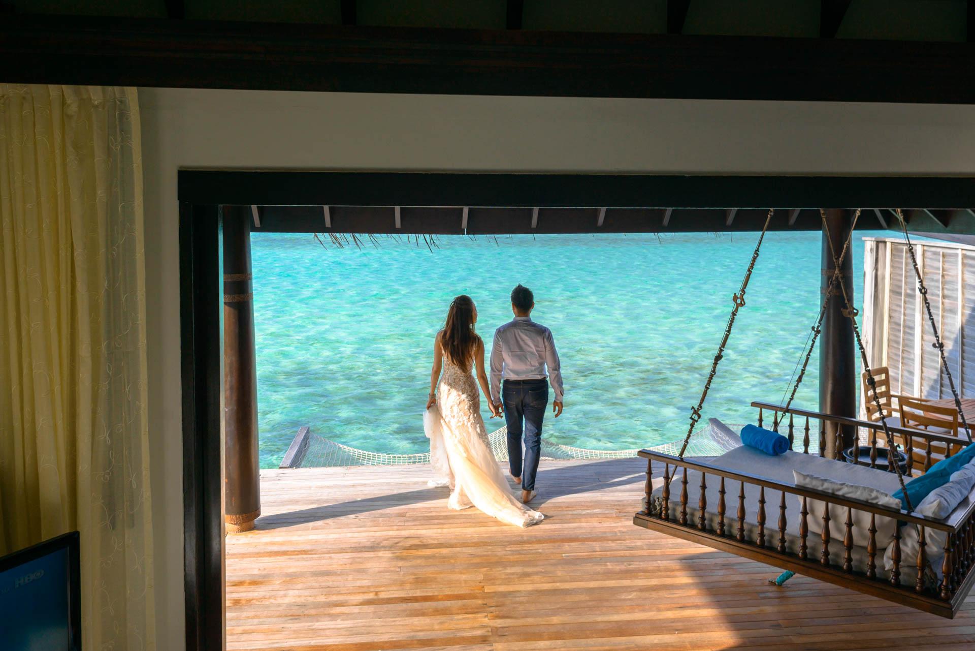 Andy Binbin Honeymoon at Anantara Kihavah 23
