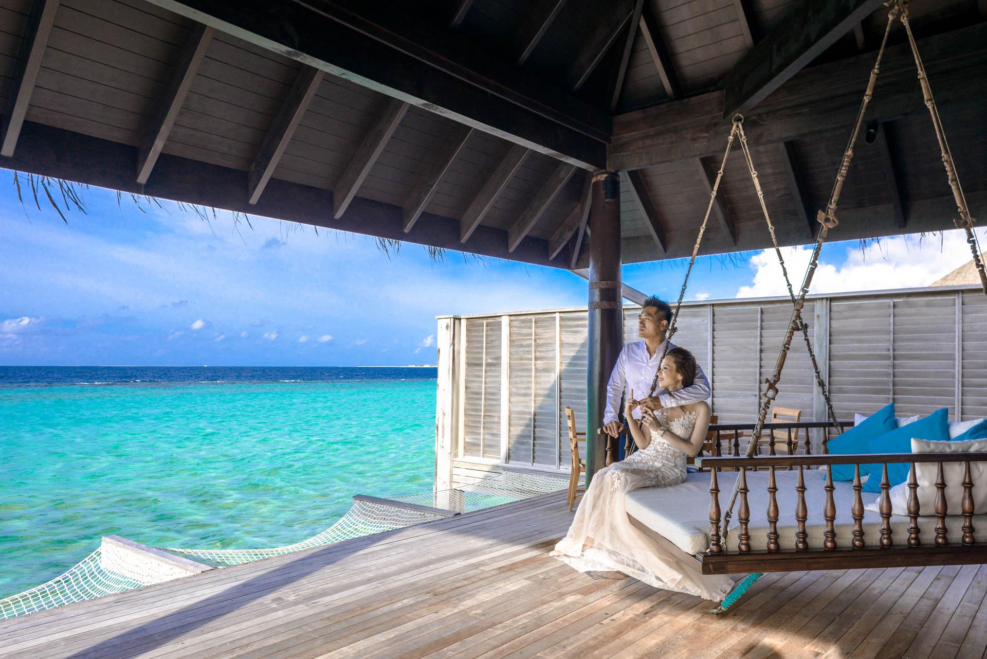 Andy Binbin Honeymoon at Anantara Kihavah 26