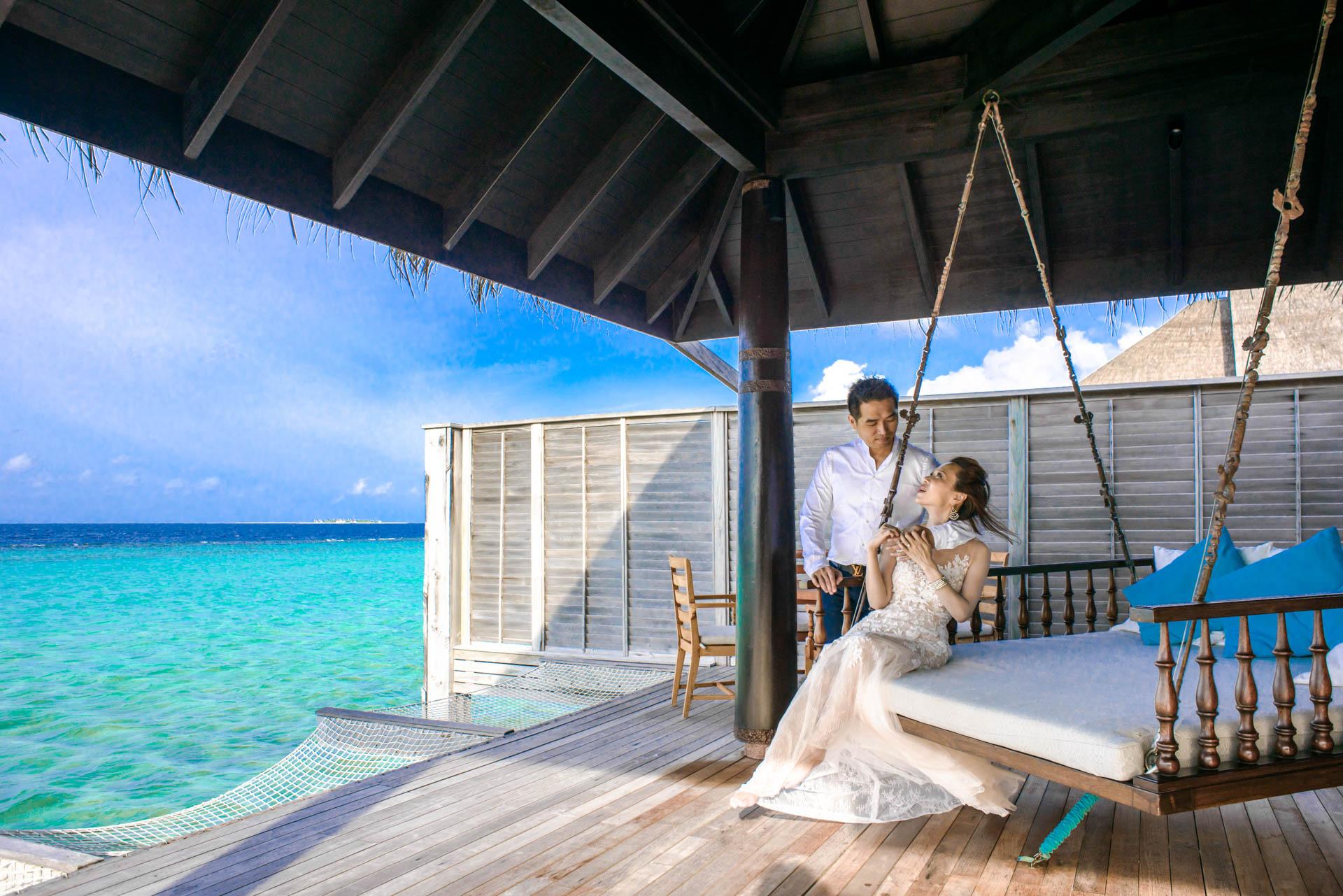 Andy Binbin Honeymoon at Anantara Kihavah 27