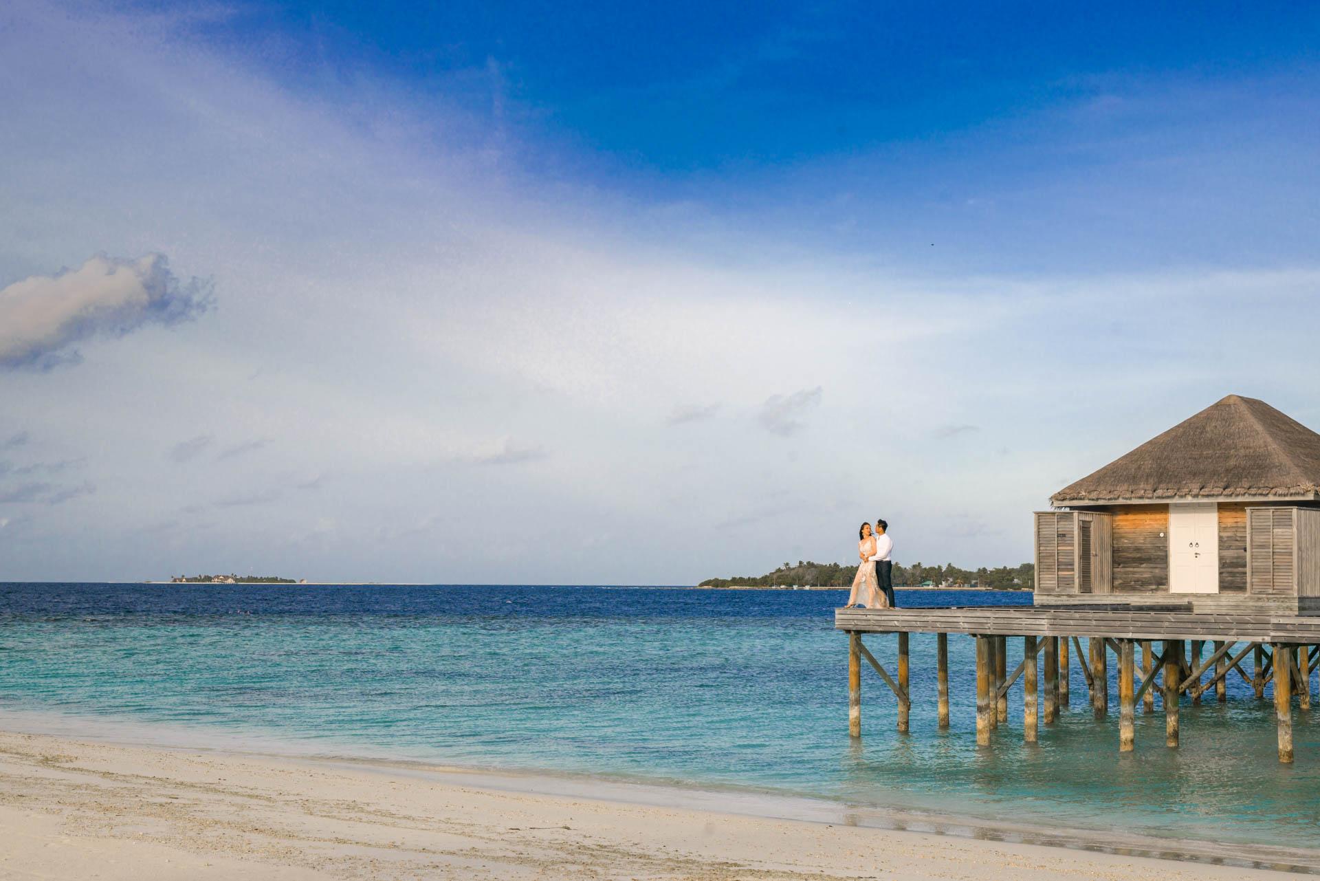 Andy Binbin Honeymoon at Anantara Kihavah 28