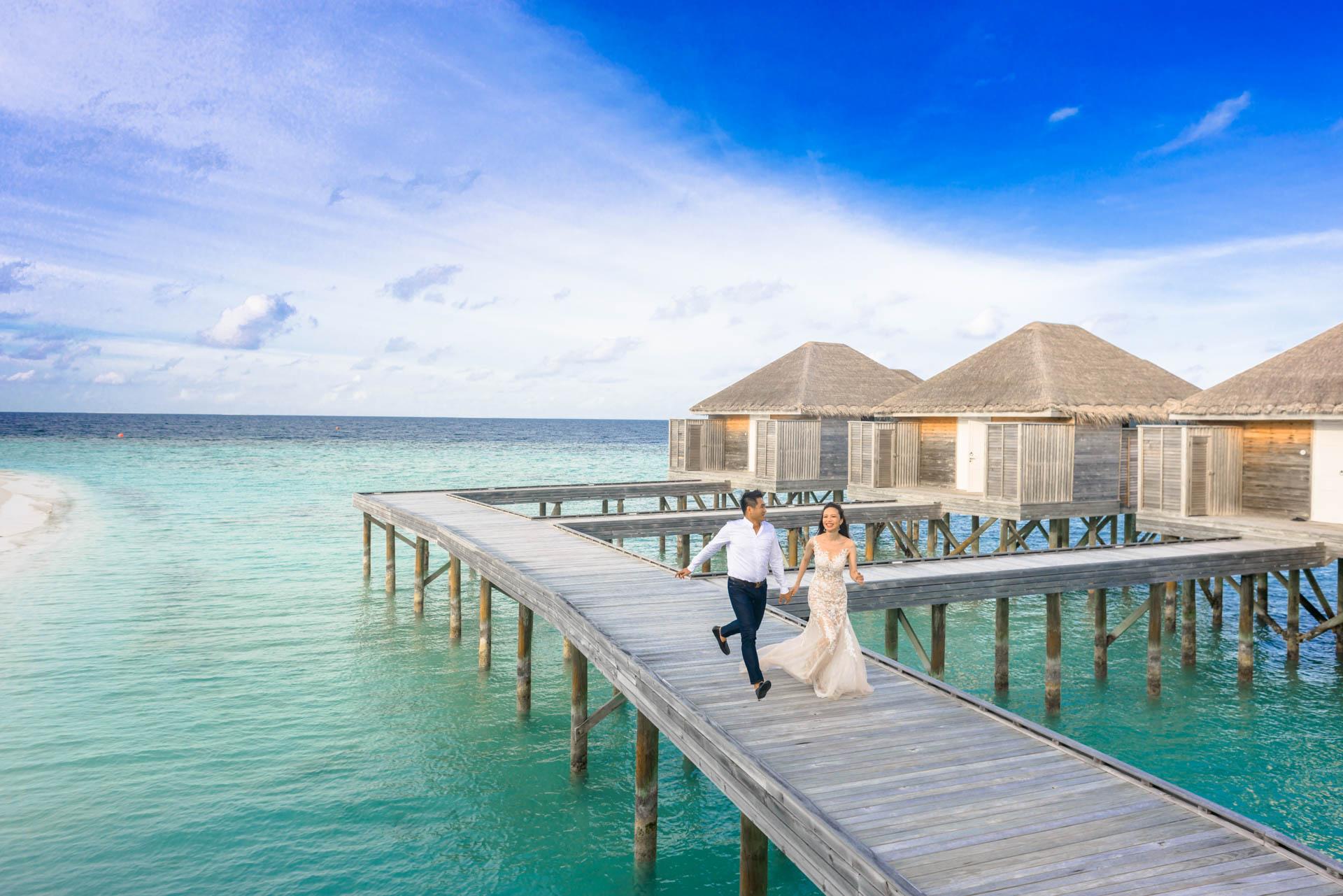 Andy Binbin Honeymoon at Anantara Kihavah 29