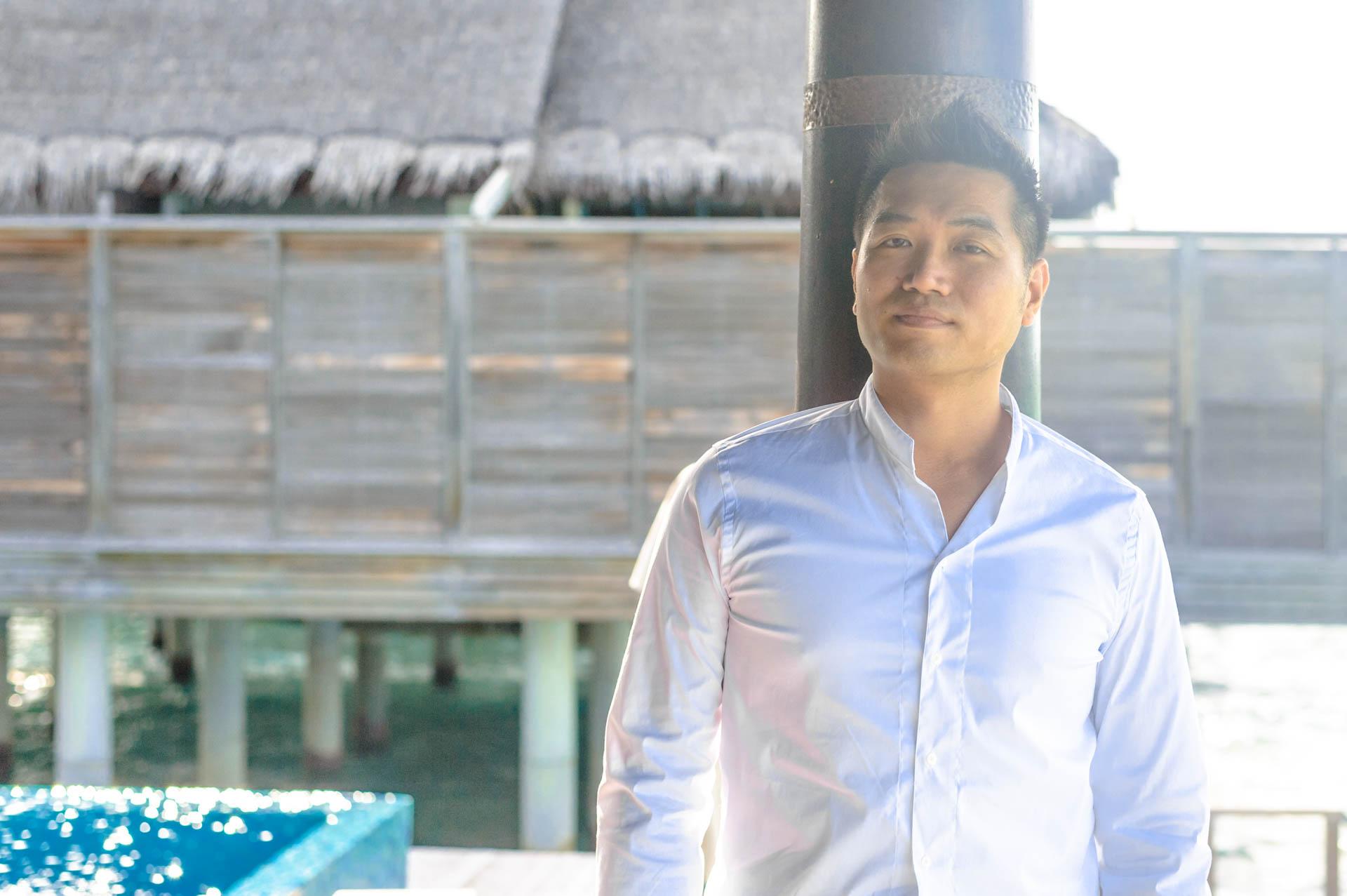 Andy Binbin Honeymoon at Anantara Kihavah 3