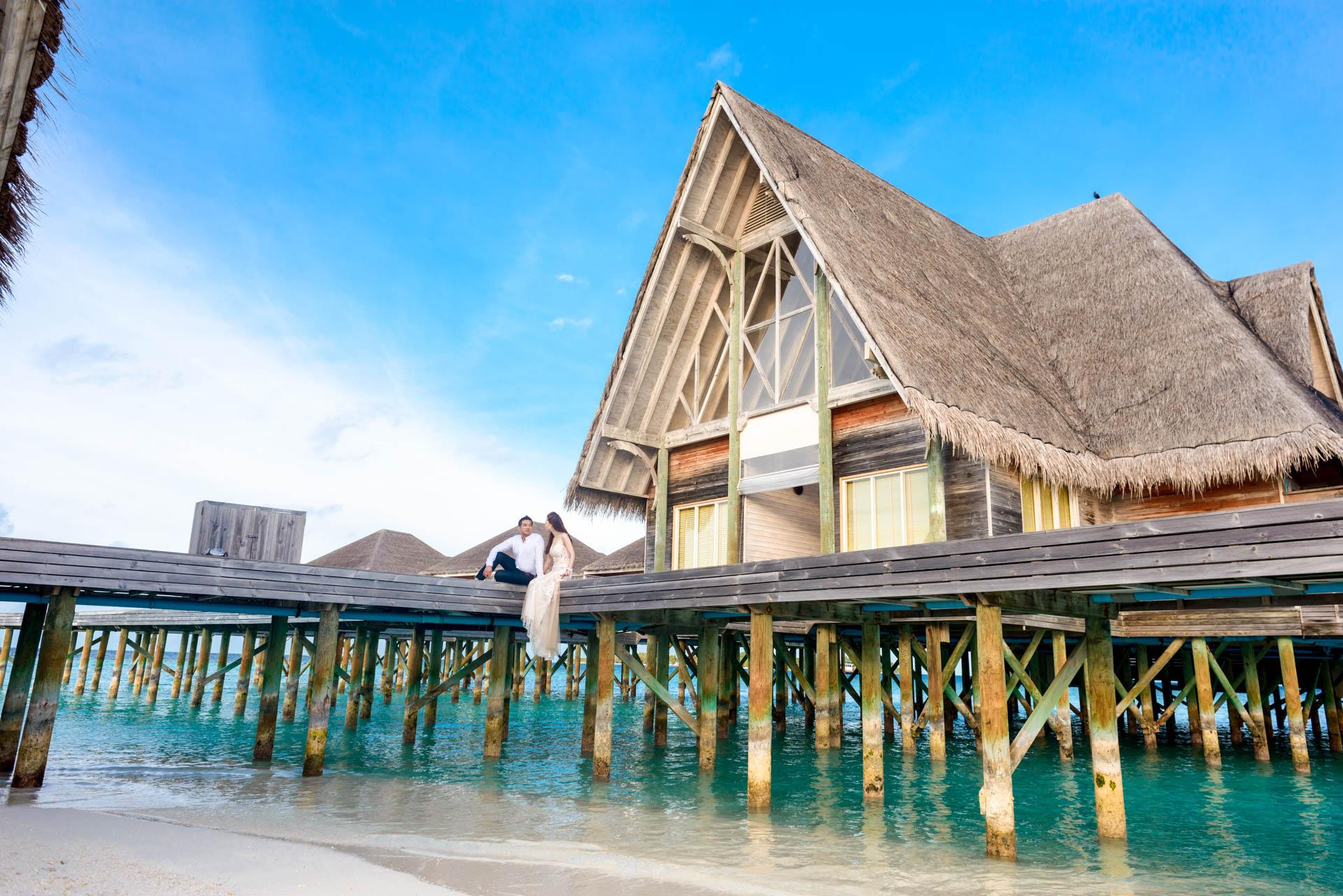 Andy Binbin Honeymoon at Anantara Kihavah 30