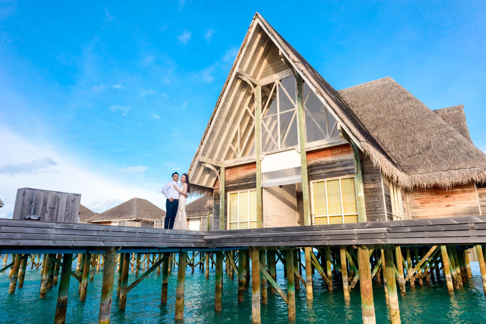 Andy Binbin Honeymoon at Anantara Kihavah 31