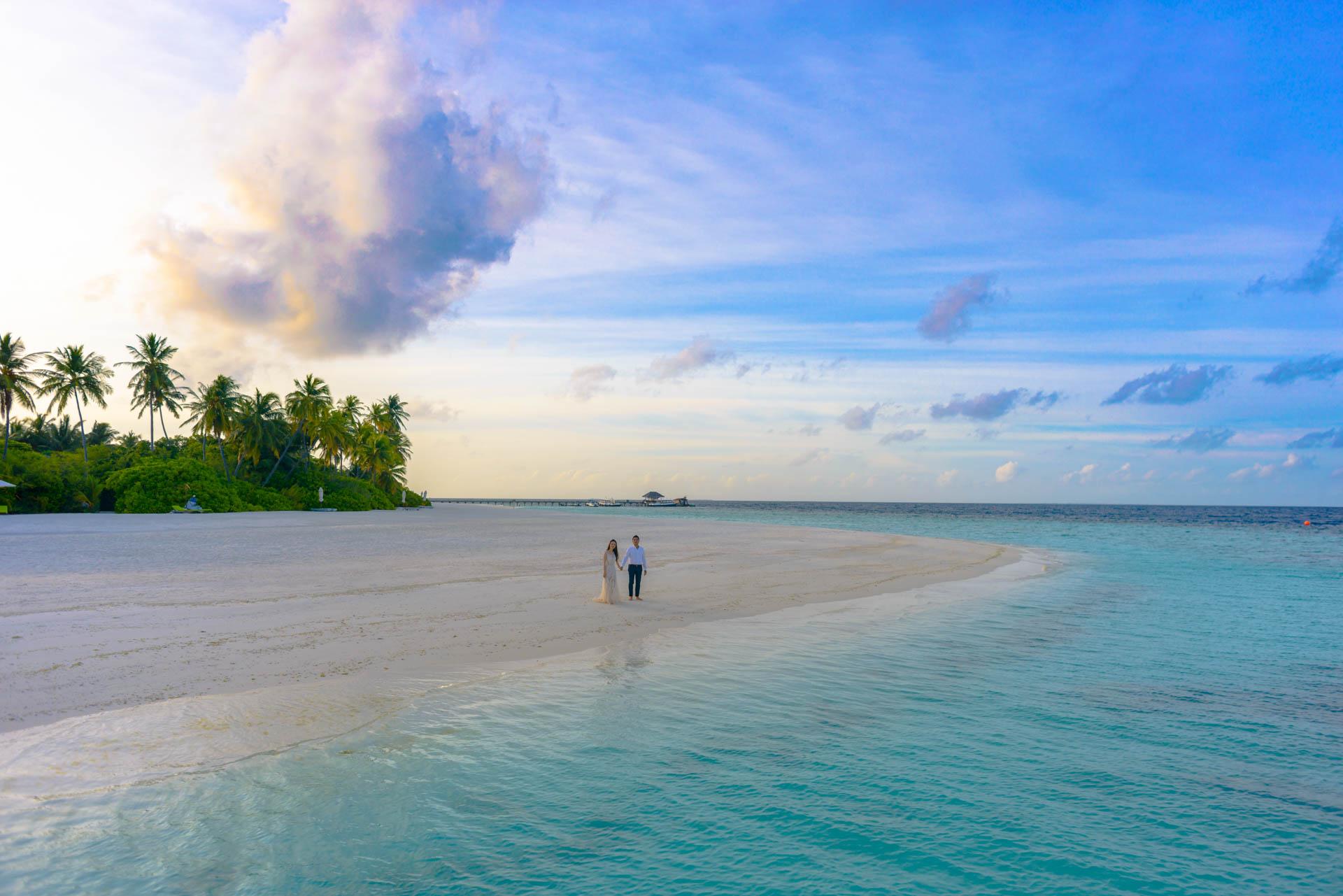 Andy Binbin Honeymoon at Anantara Kihavah 34