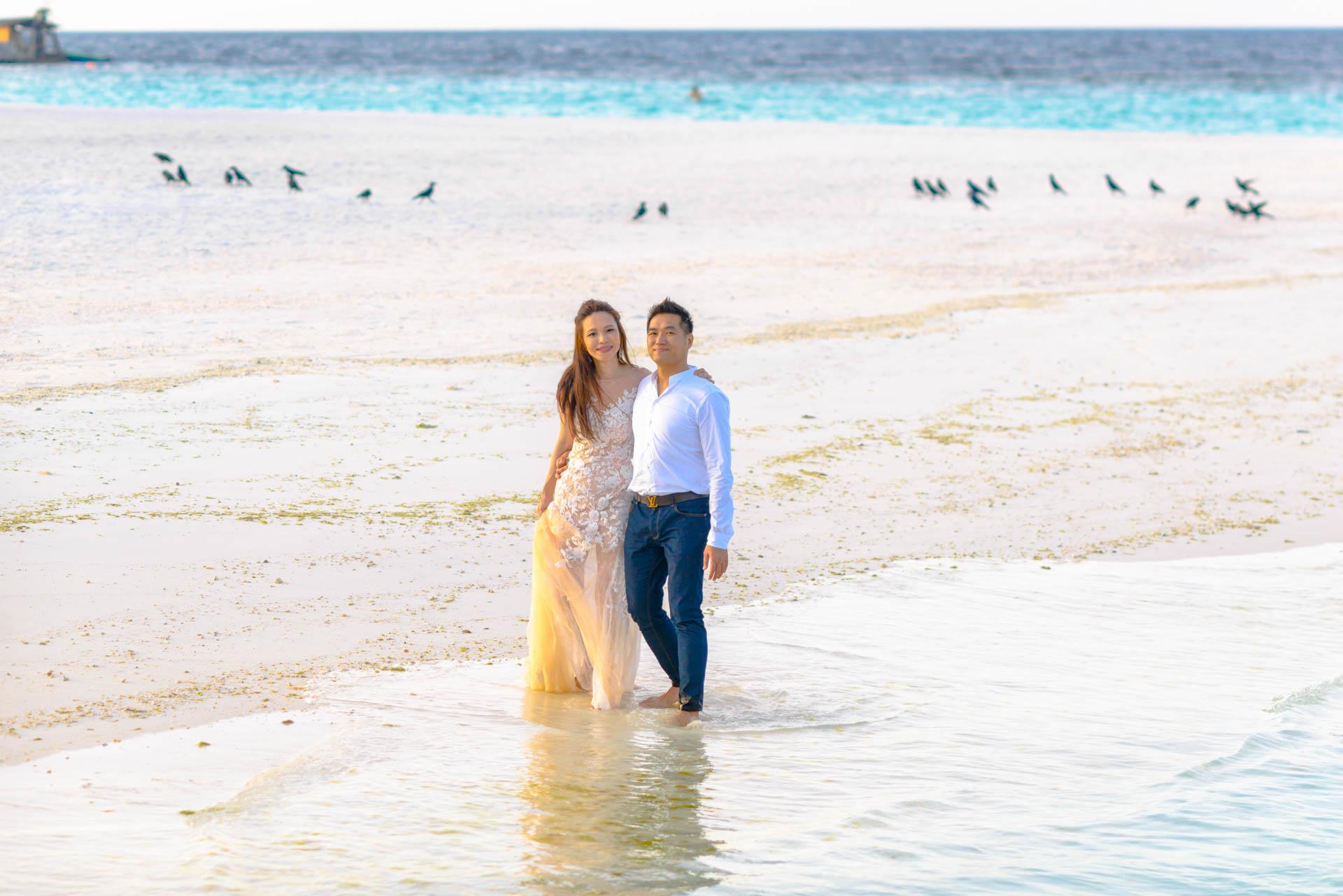 Andy Binbin Honeymoon at Anantara Kihavah 36