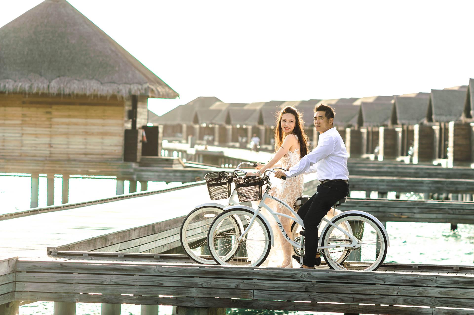Andy Binbin Honeymoon at Anantara Kihavah 9