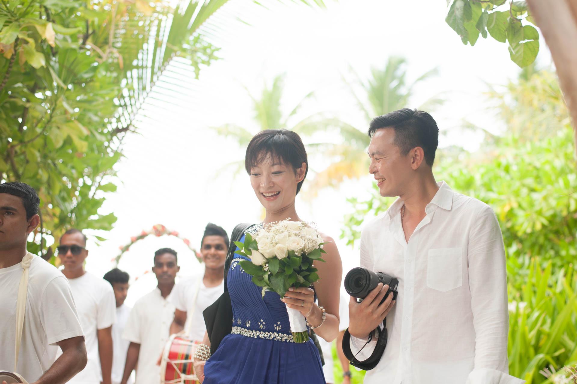 Chih Chao Yu Shan Destination Wedding at Residence Maldives 18