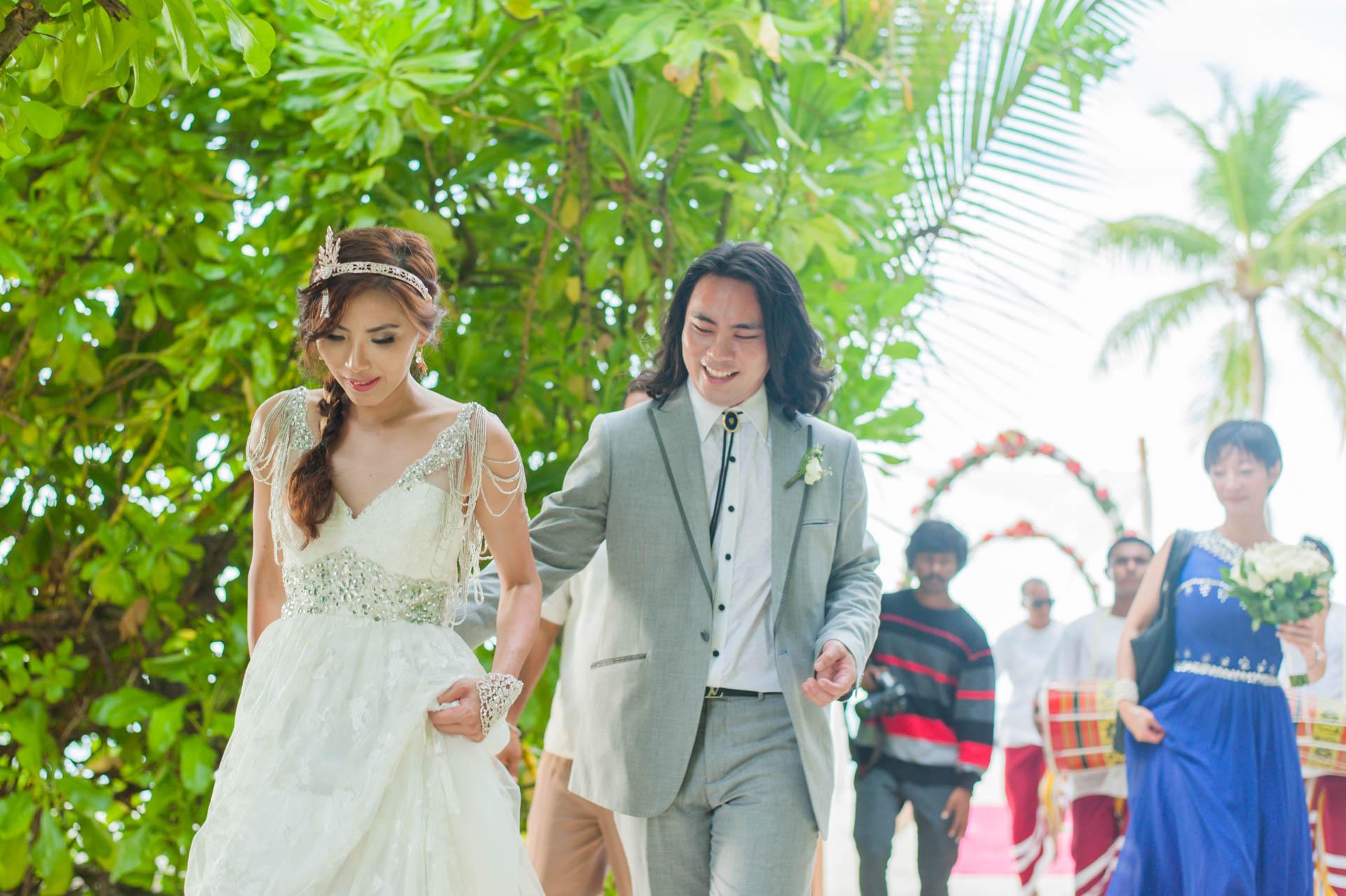 Chih Chao Yu Shan Destination Wedding at Residence Maldives 19