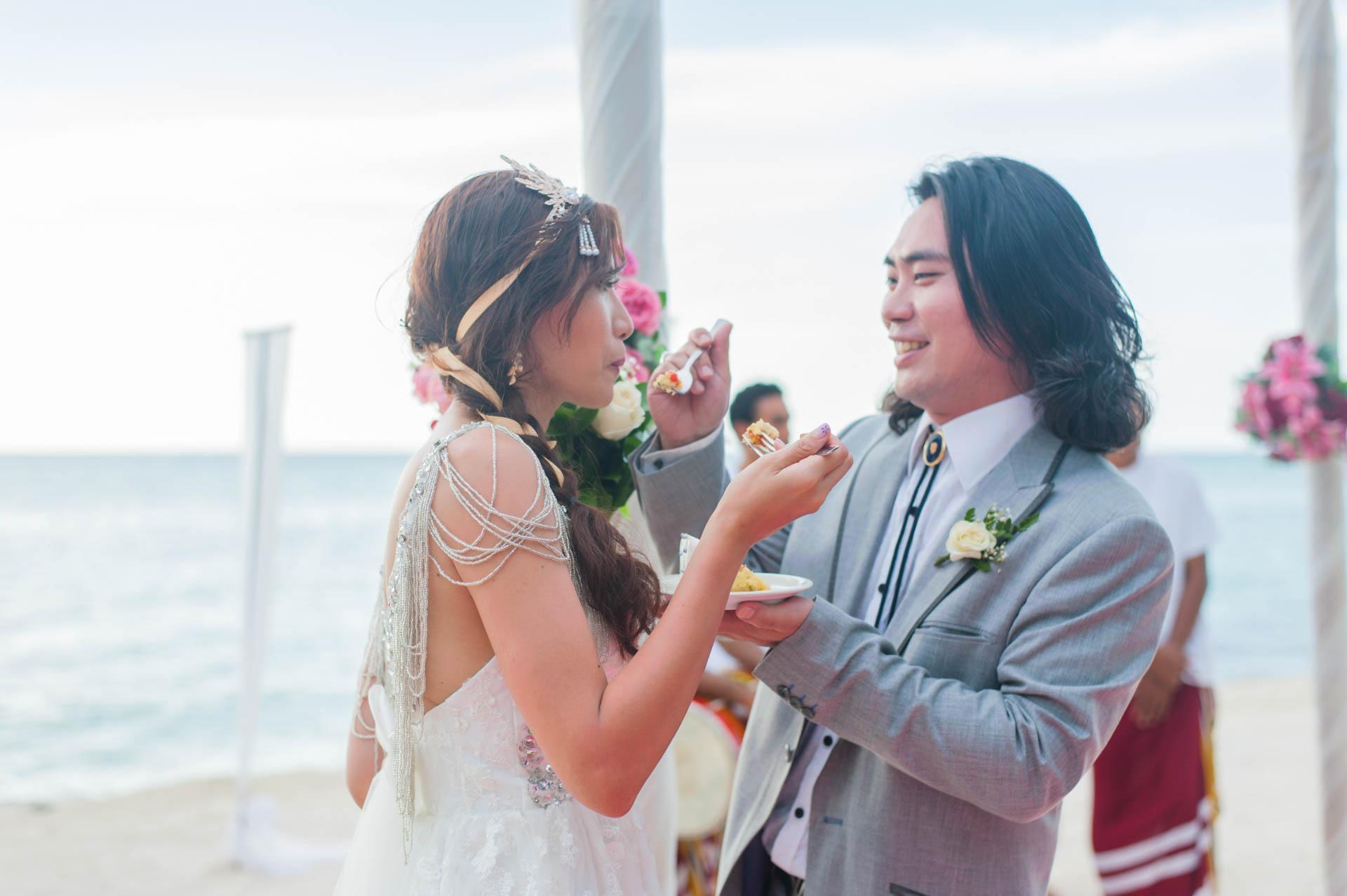 Chih Chao Yu Shan Destination Wedding at Residence Maldives 21