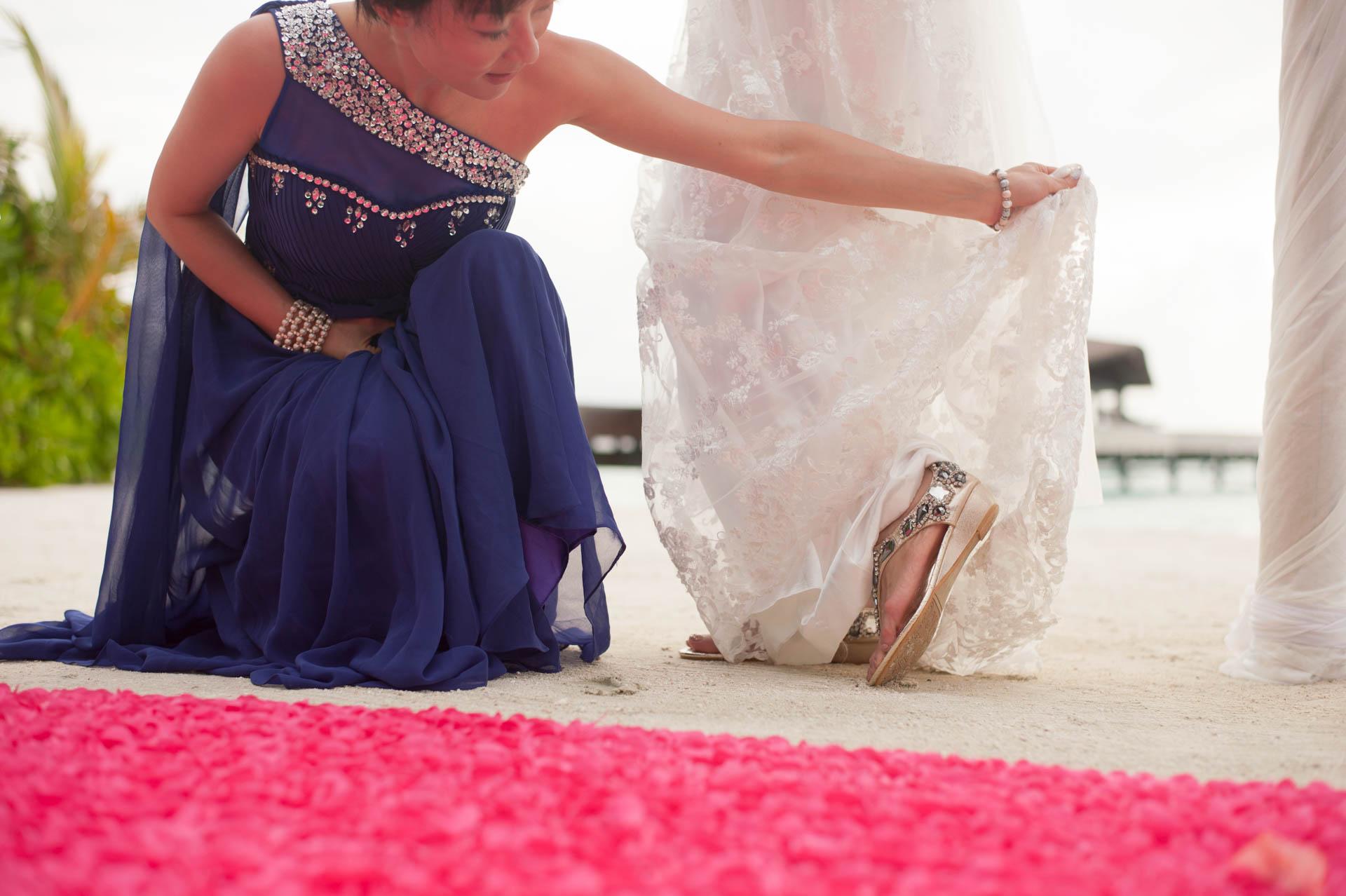 Chih Chao Yu Shan Destination Wedding at Residence Maldives 22