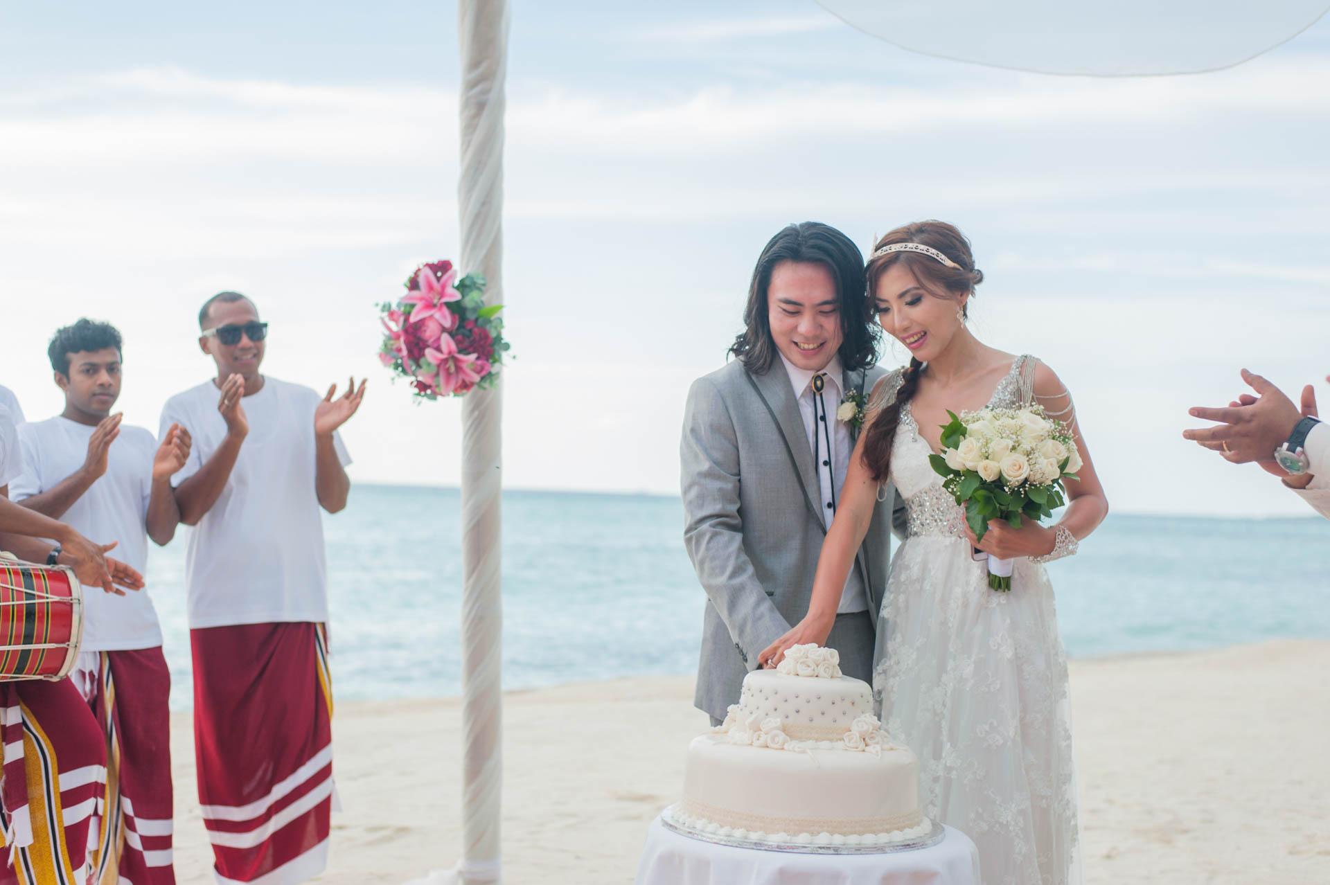 Chih Chao Yu Shan Destination Wedding at Residence Maldives 23
