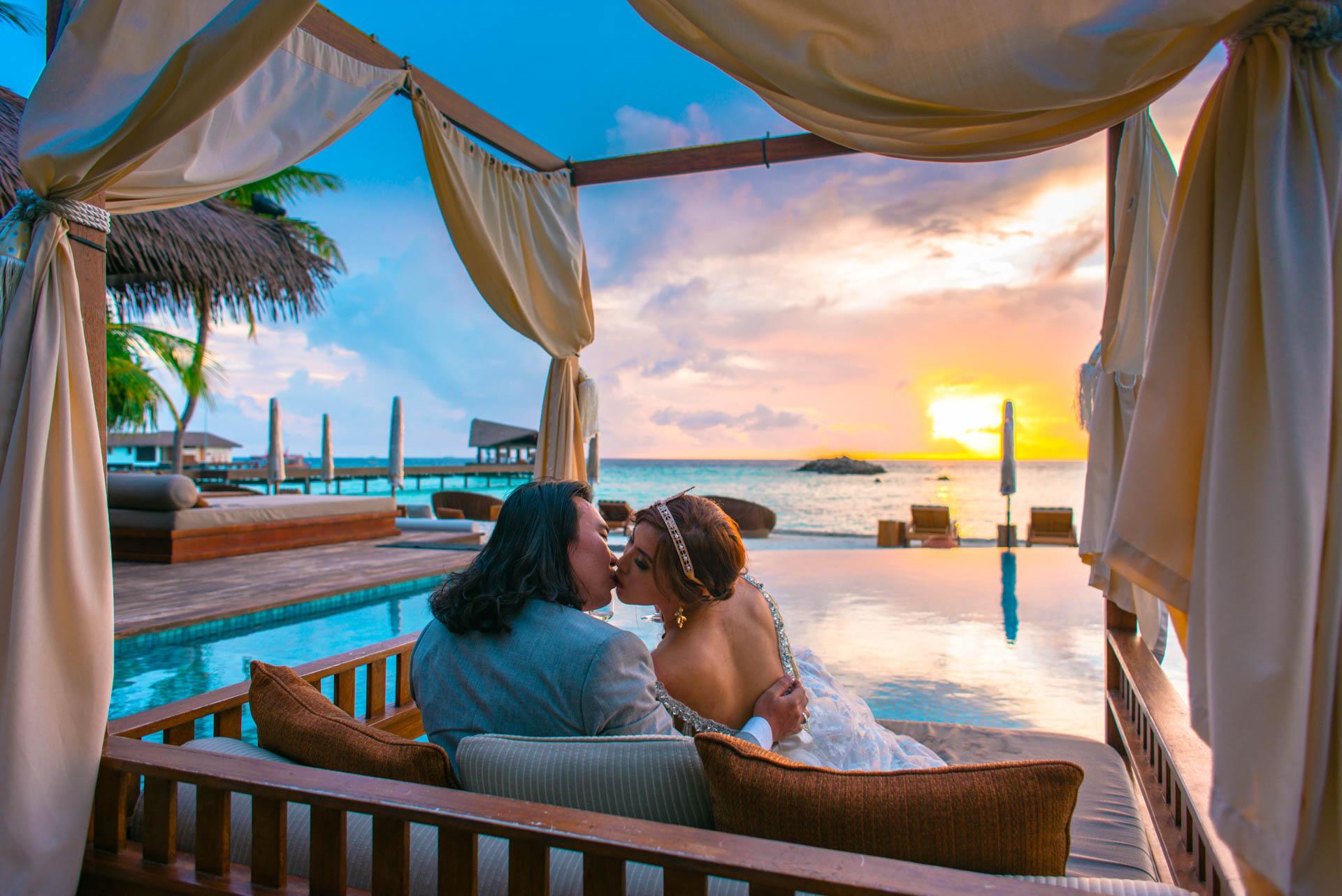 Chih Chao Yu Shan Destination Wedding at Residence Maldives 3