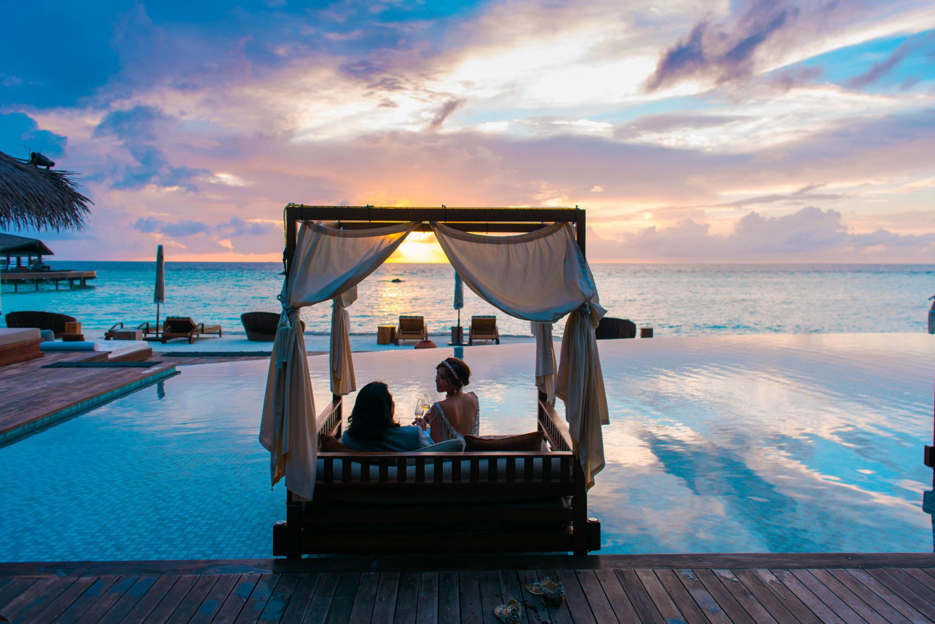 Chih Chao Yu Shan Destination Wedding at Residence Maldives 4