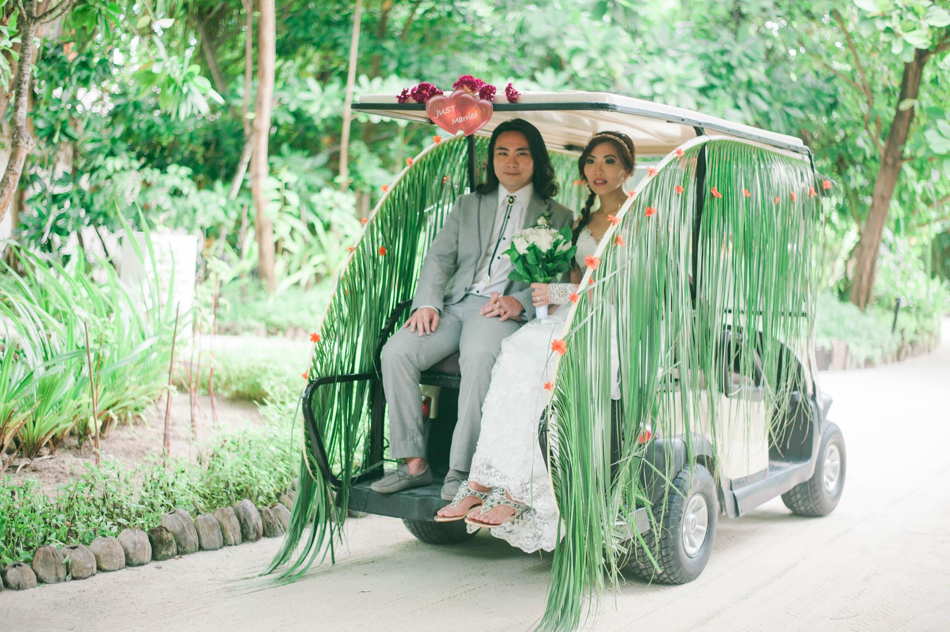 Chih Chao Yu Shan Destination Wedding at Residence Maldives 41