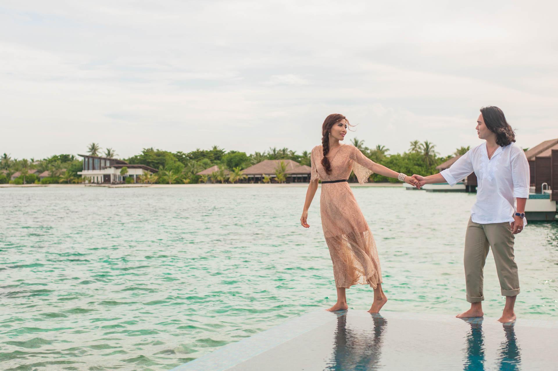 Chih Chao Yu Shan Destination Wedding at Residence Maldives 45