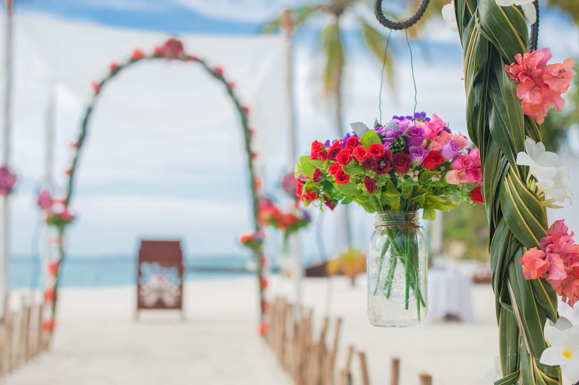 Chih Chao Yu Shan Destination Wedding at Residence Maldives 48