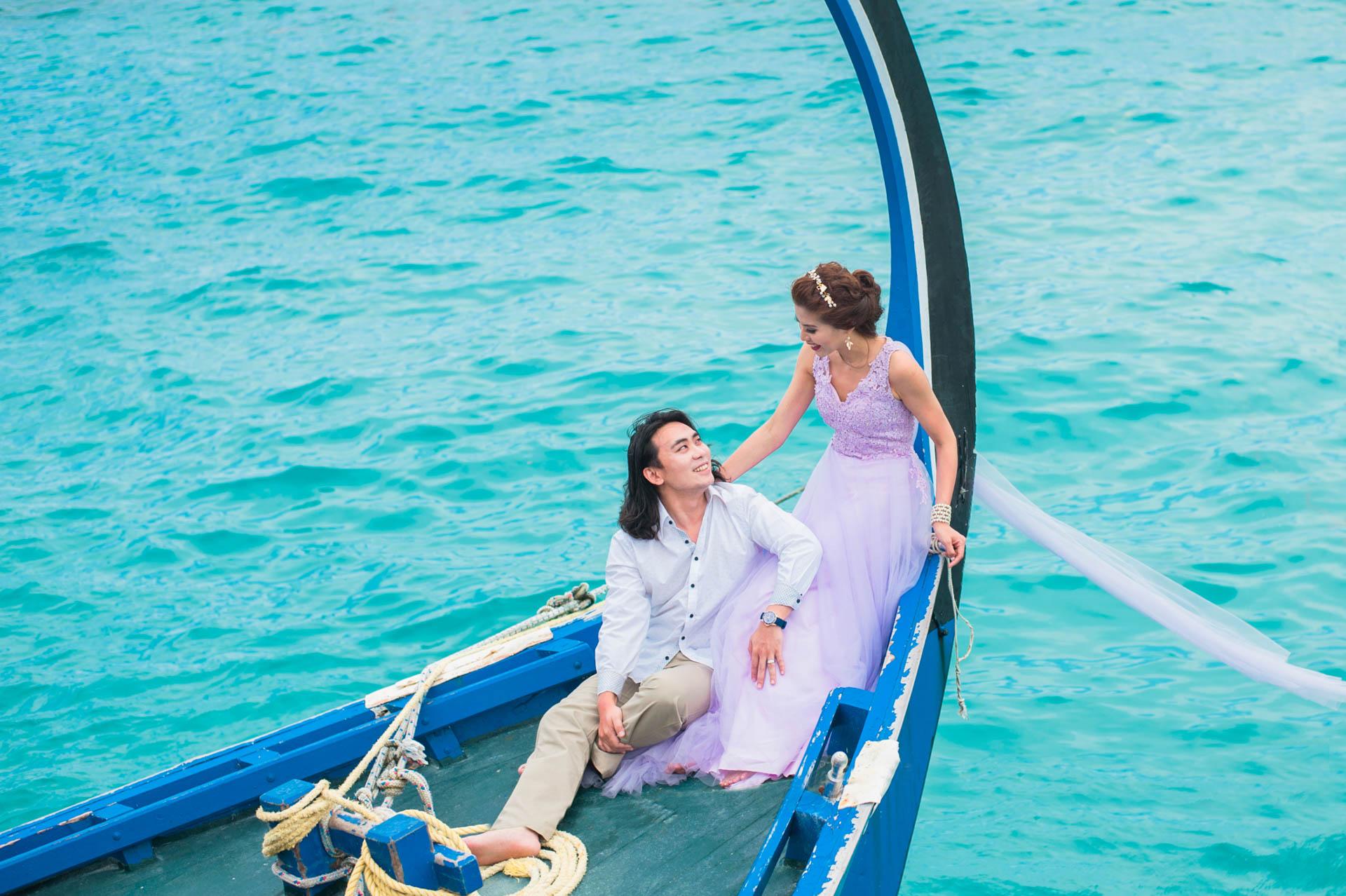 Chih Chao Yu Shan Destination Wedding at Residence Maldives 51