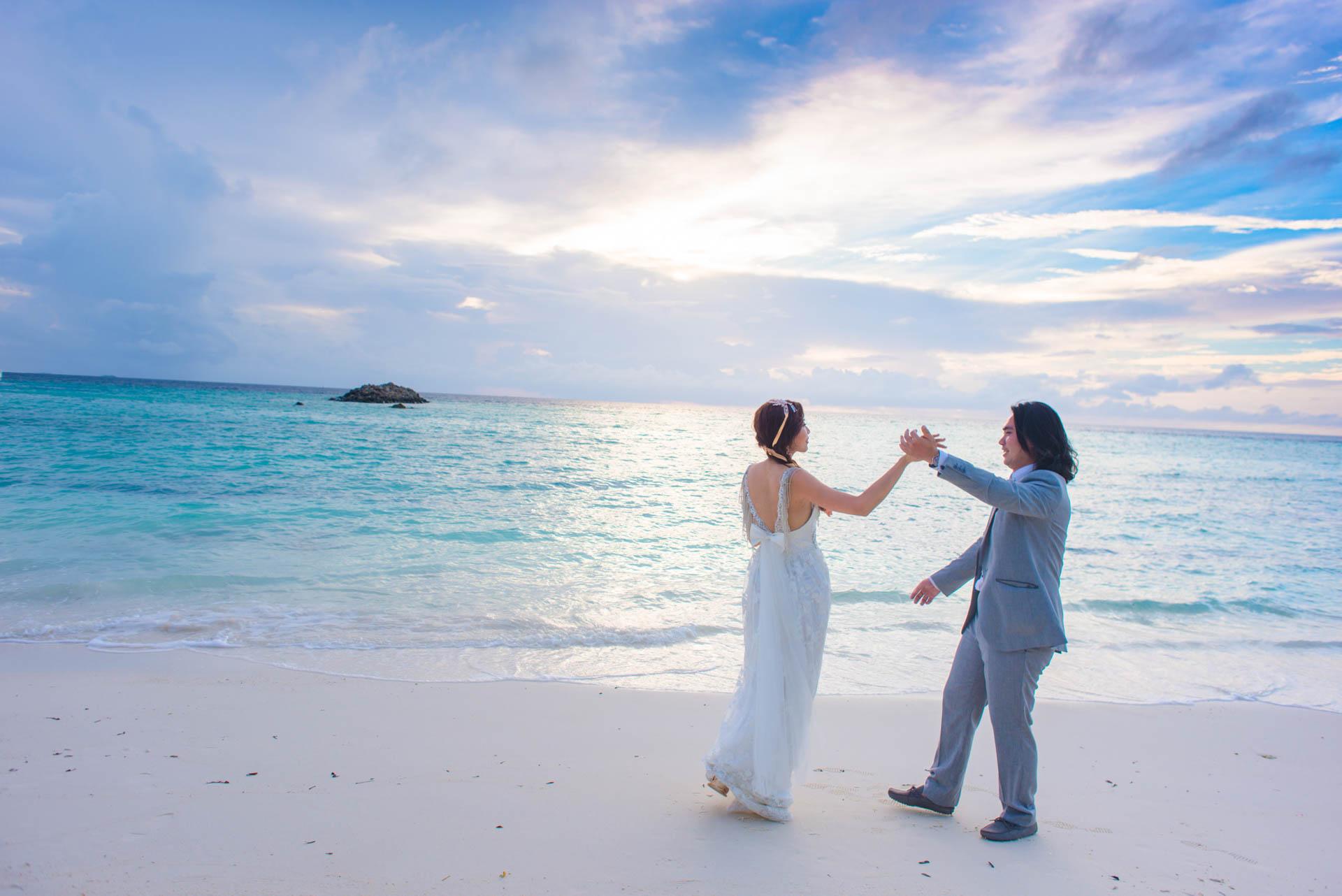 Chih Chao Yu Shan Destination Wedding at Residence Maldives 6