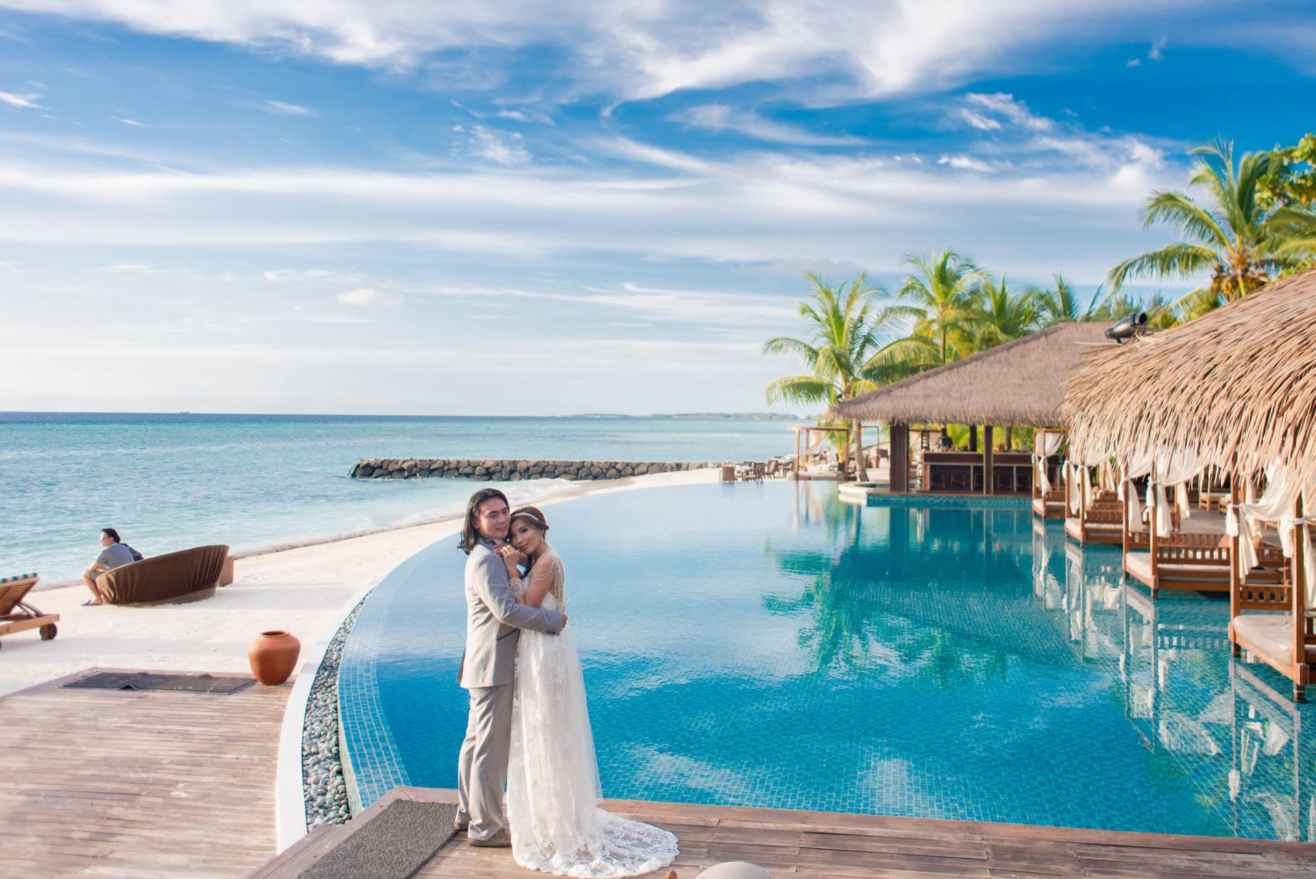 Chih Chao Yu Shan Destination Wedding at Residence Maldives 9