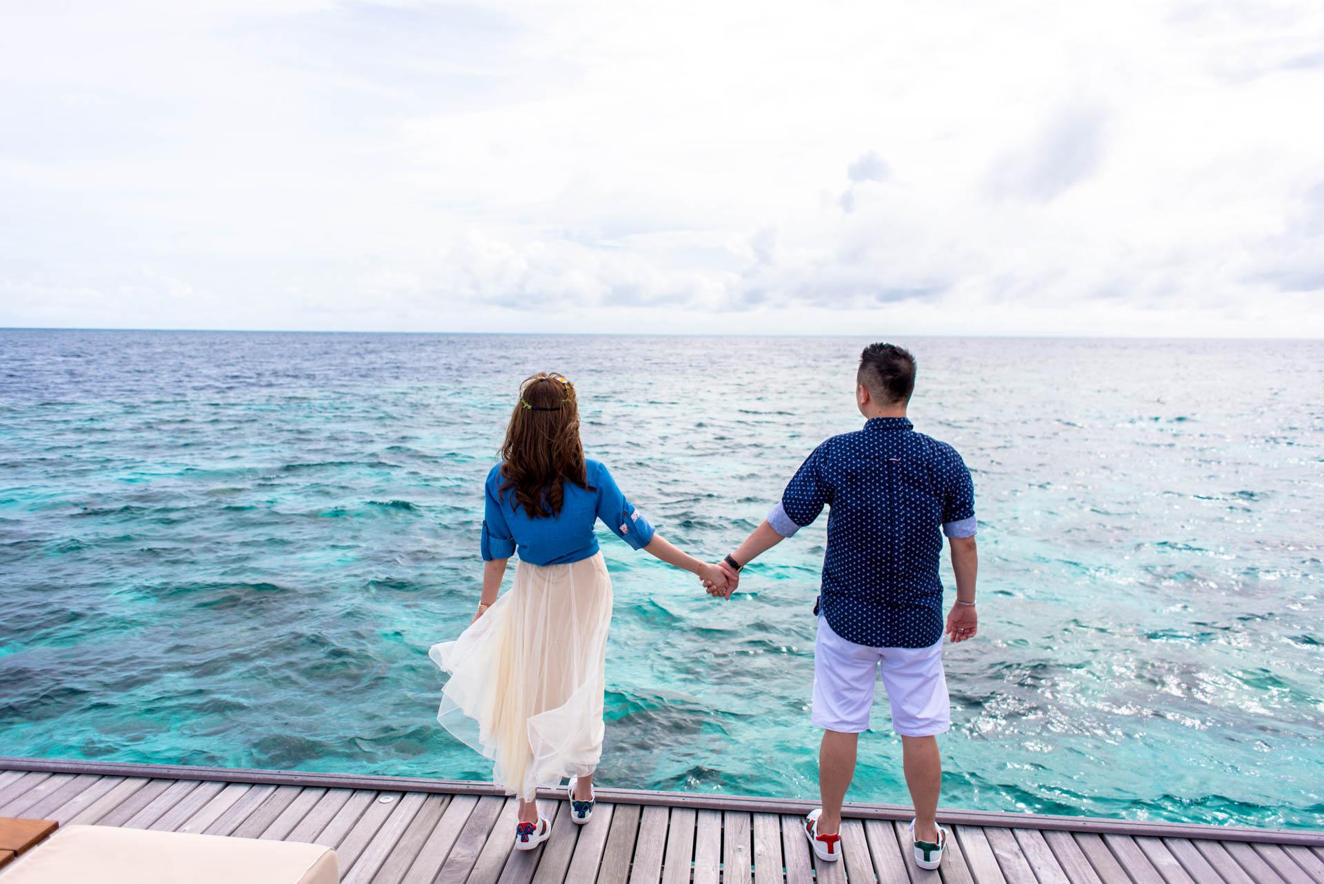 Chin Siew and Chin Yee Honeymoon in Maldives at Huvafen Fushi Resort Under Water Spa 14