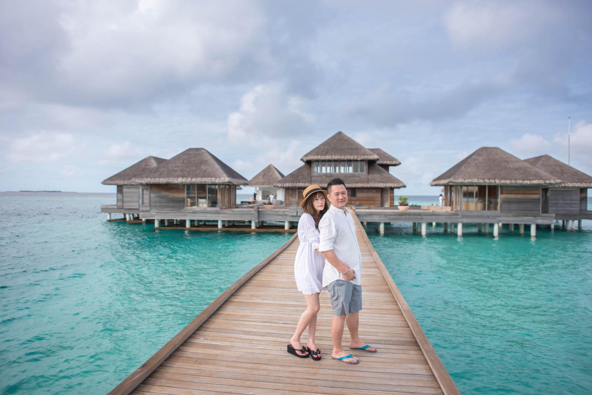 Chin Siew and Chin Yee Honeymoon in Maldives at Huvafen Fushi Resort Under Water Spa 16
