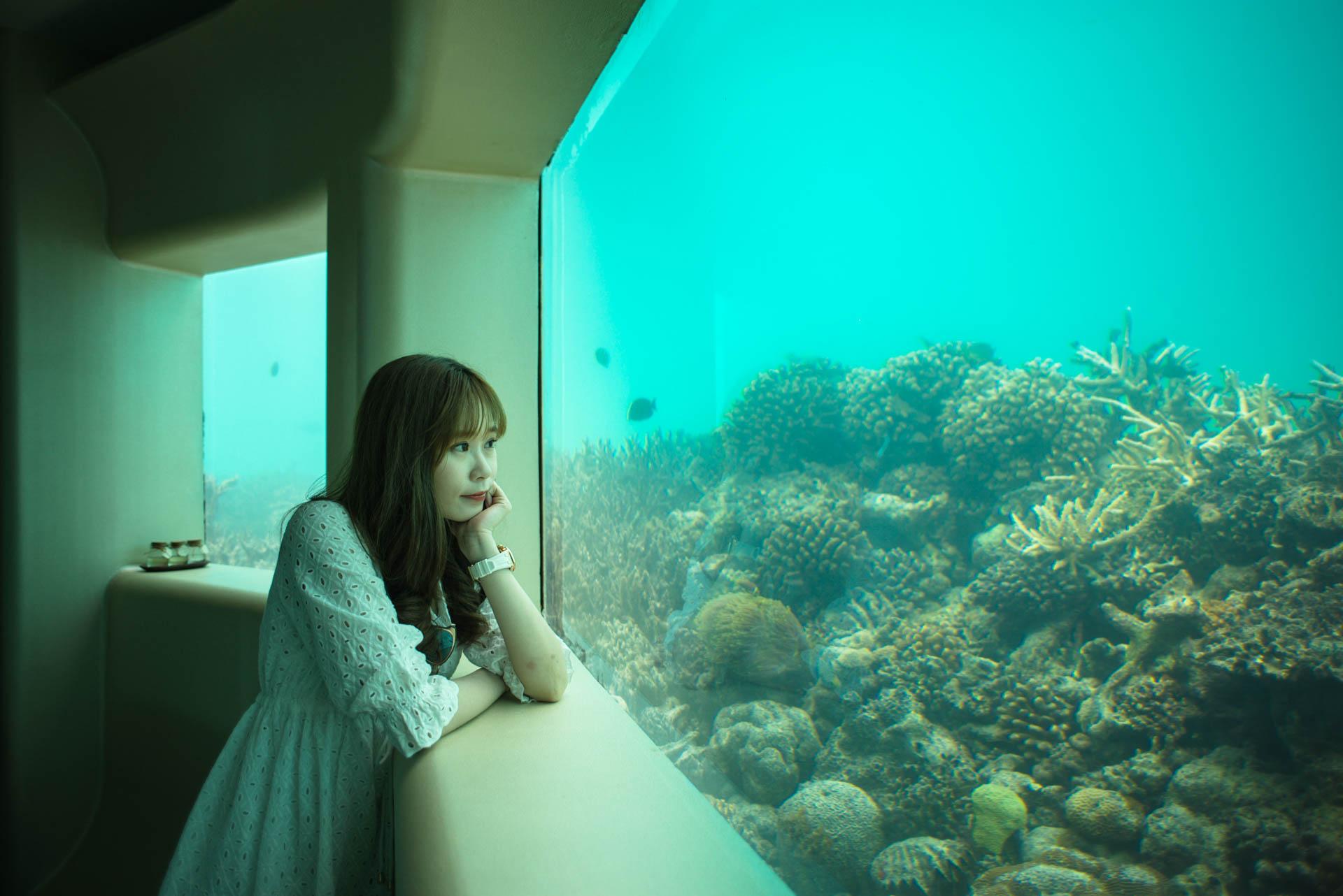 Chin Siew and Chin Yee Honeymoon in Maldives at Huvafen Fushi Resort Under Water Spa 17