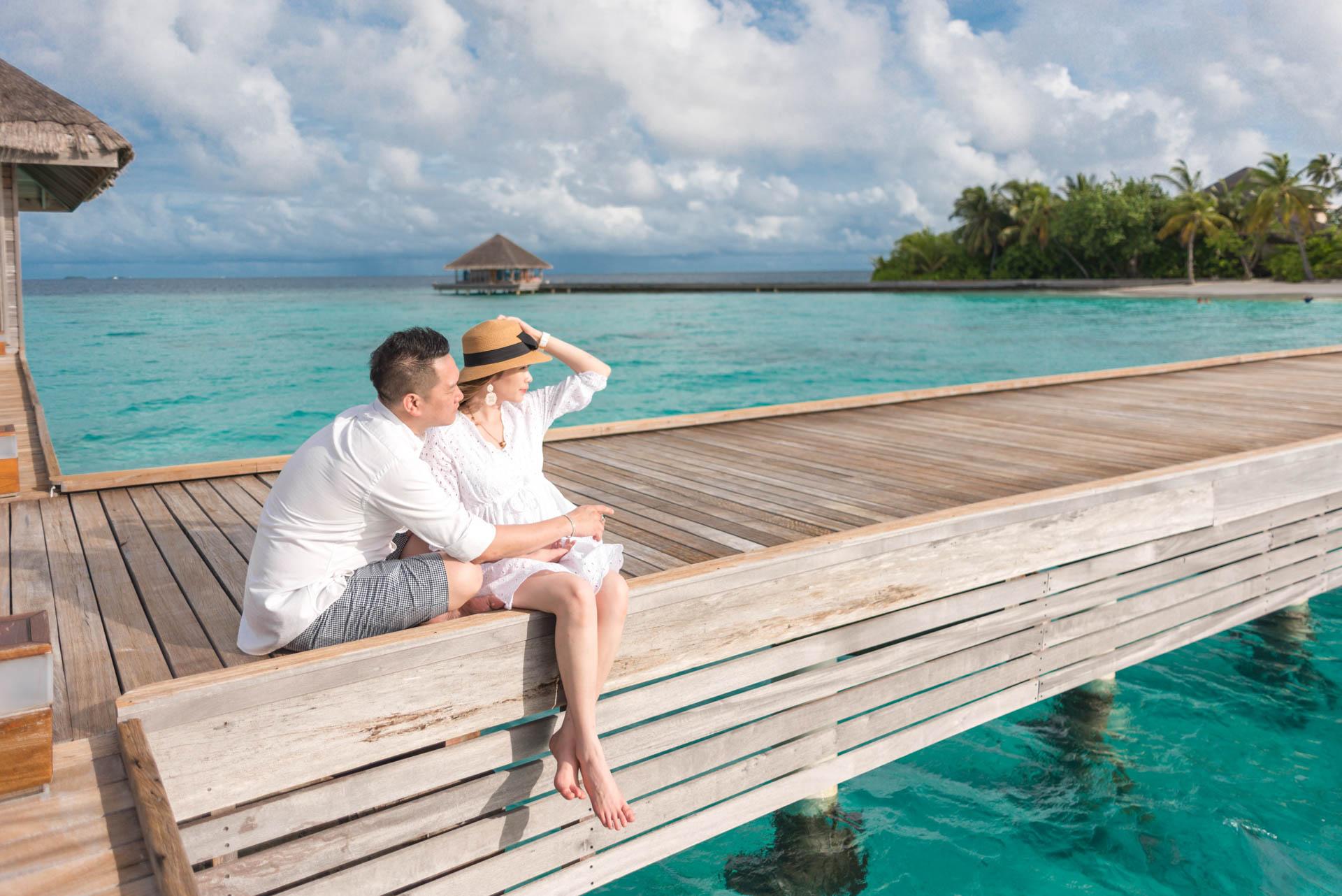 Chin Siew and Chin Yee Honeymoon in Maldives at Huvafen Fushi Resort Under Water Spa 21