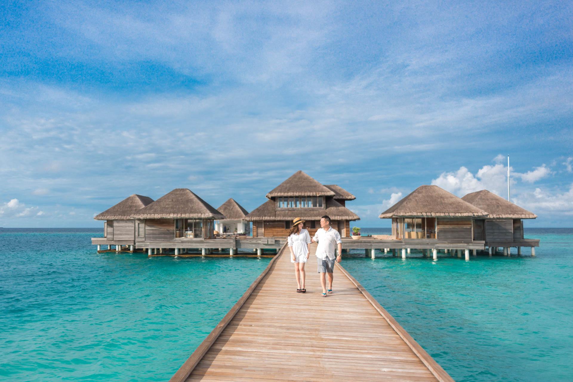 Chin Siew and Chin Yee Honeymoon in Maldives at Huvafen Fushi Resort Under Water Spa 22