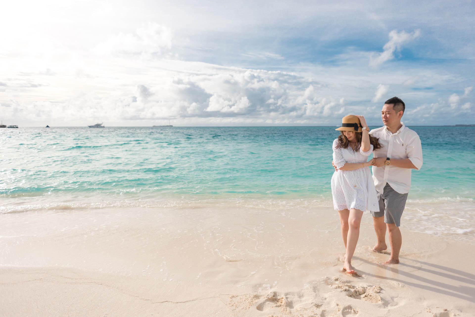 Chin Siew and Chin Yee Honeymoon in Maldives at Huvafen Fushi Resort Under Water Spa 24
