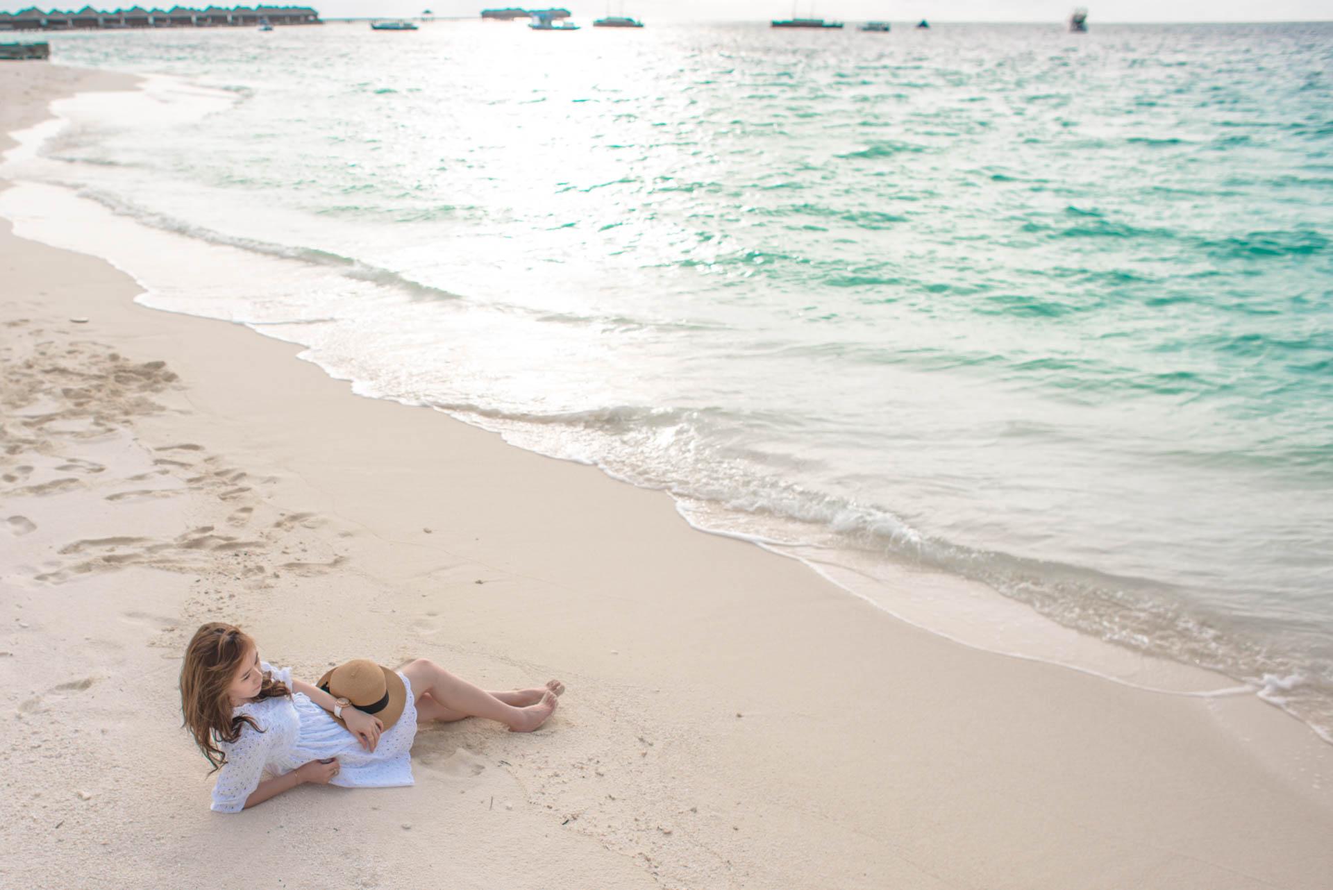 Chin Siew and Chin Yee Honeymoon in Maldives at Huvafen Fushi Resort Under Water Spa 25
