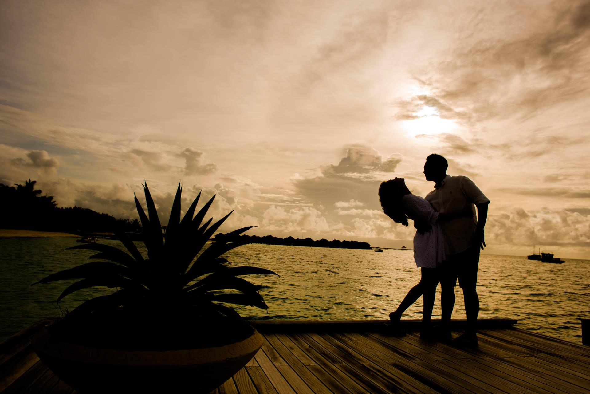 Chin Siew and Chin Yee Honeymoon in Maldives at Huvafen Fushi Resort Under Water Spa 28