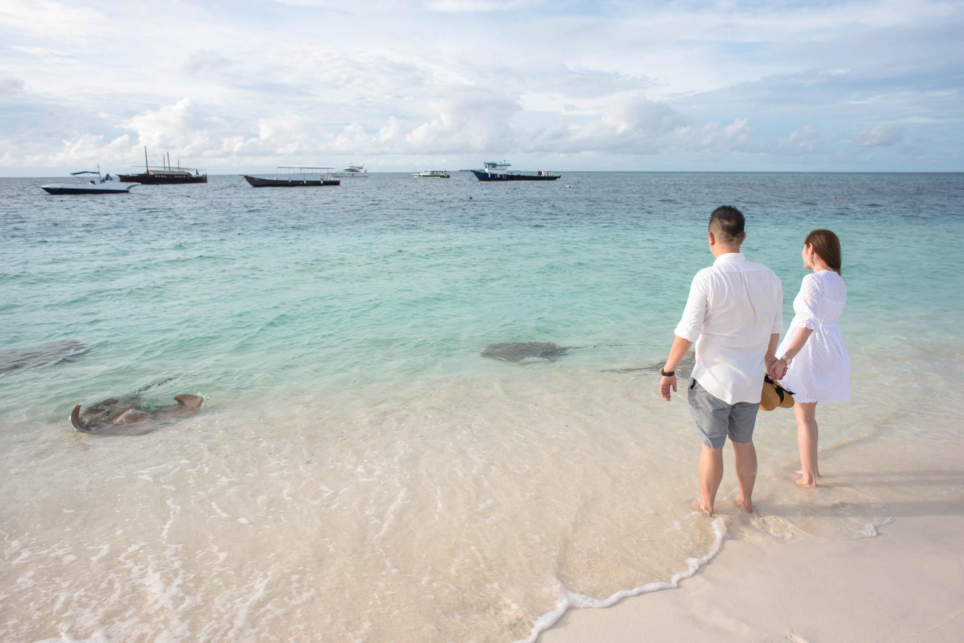 Chin Siew and Chin Yee Honeymoon in Maldives at Huvafen Fushi Resort Under Water Spa 29