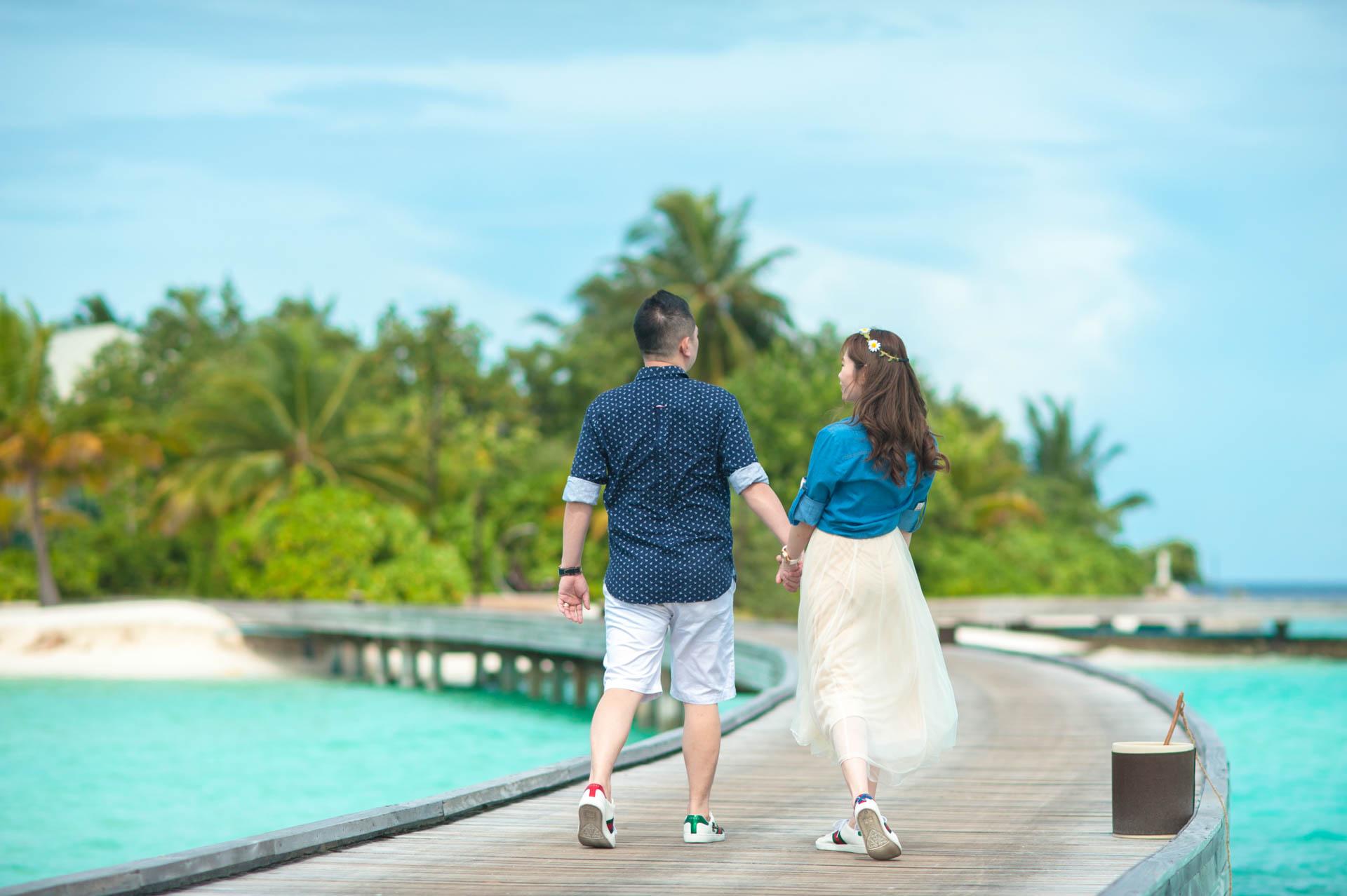 Chin Siew and Chin Yee Honeymoon in Maldives at Huvafen Fushi Resort Under Water Spa 36